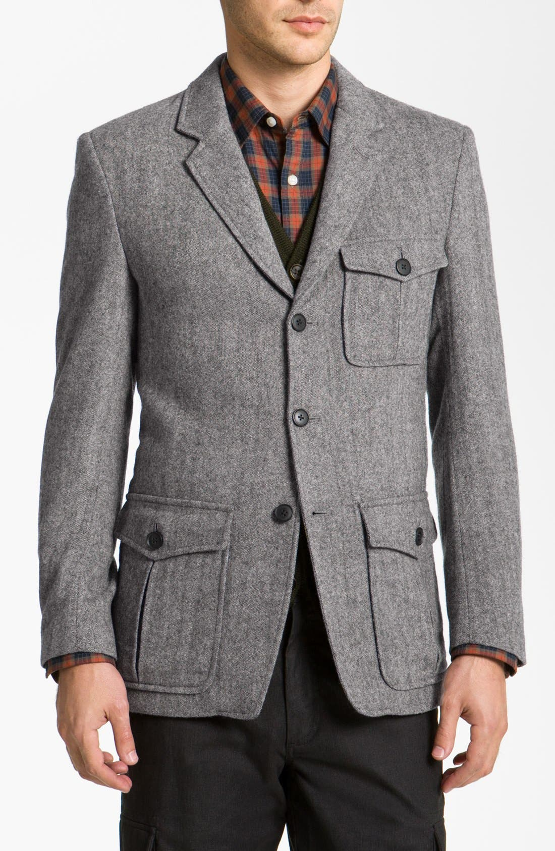 Alternate Image 1 Selected - Wallin & Bros. 'Hunting' Wool Blend Sportcoat