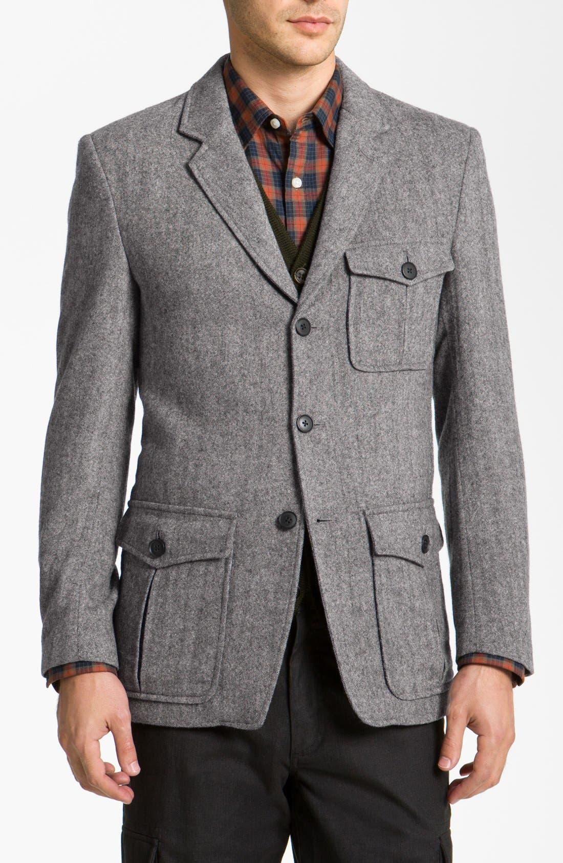 Alternate Image 1 Selected - Wallin & Bros. 'Hunting' Wool Blend Sportcoat