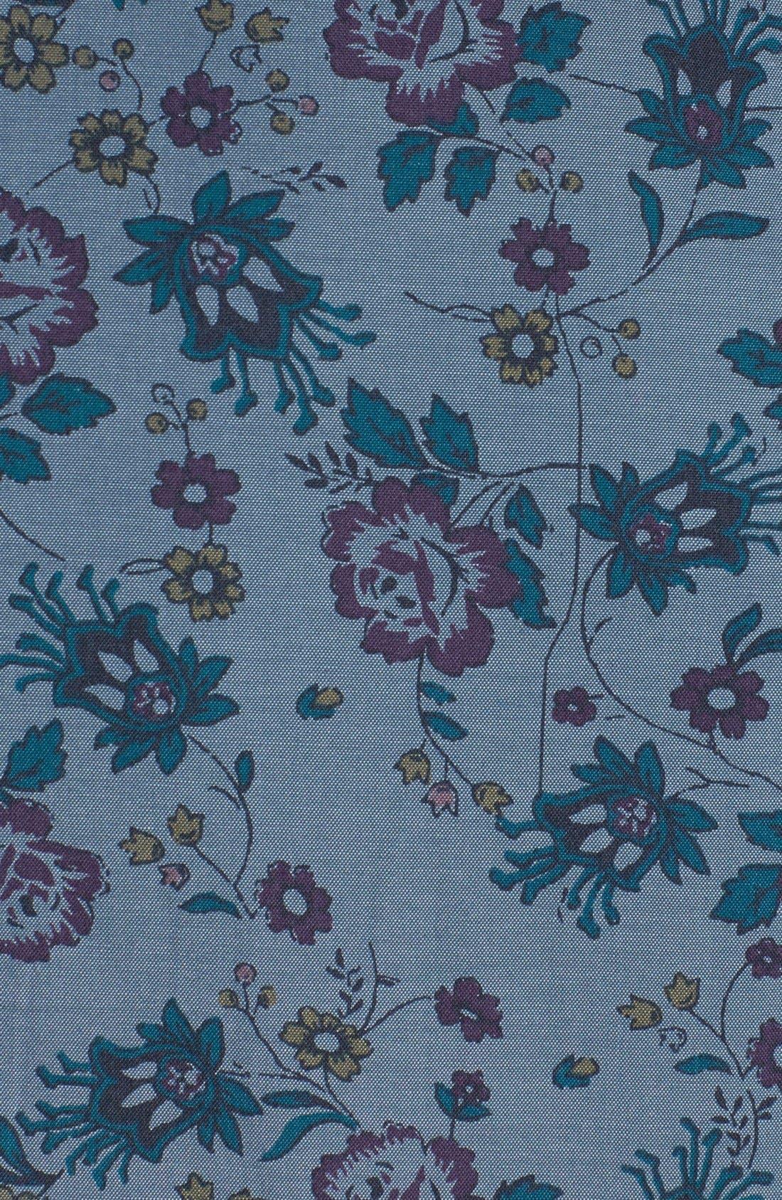 Alternate Image 2  - Original Penguin Floral Print Chambray Shirt
