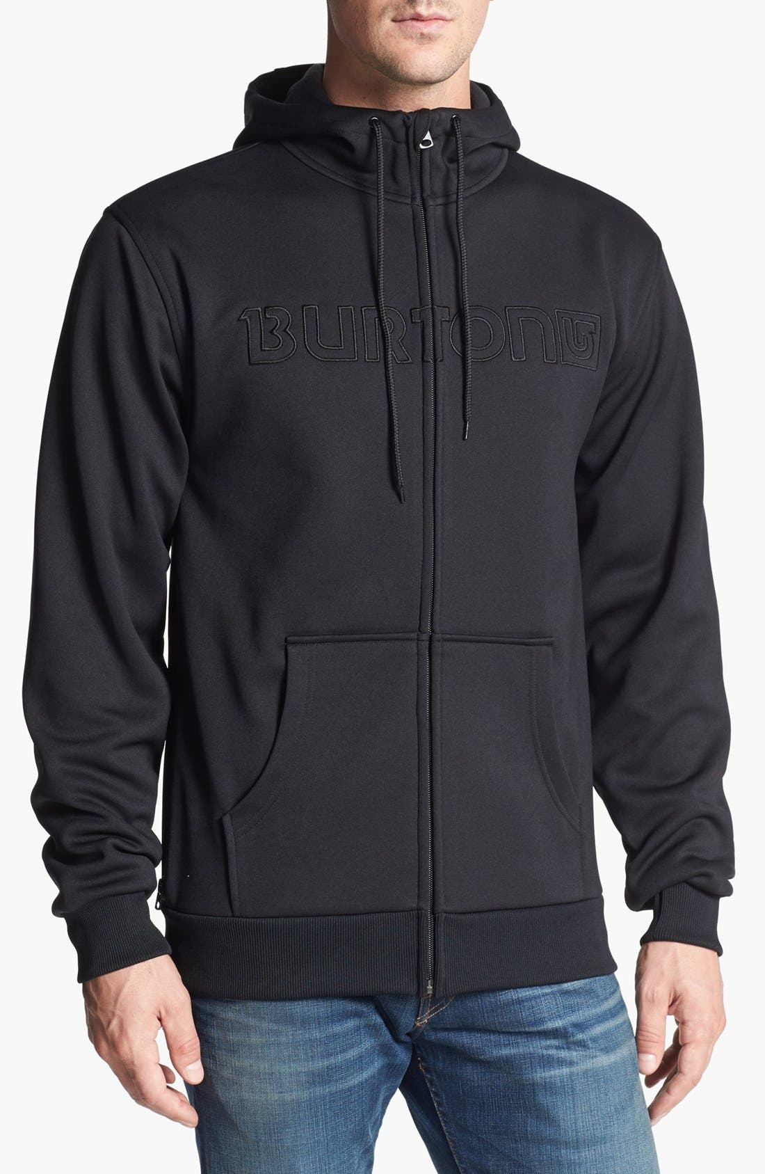 Alternate Image 1 Selected - Burton Bonded Waterproof Hoodie