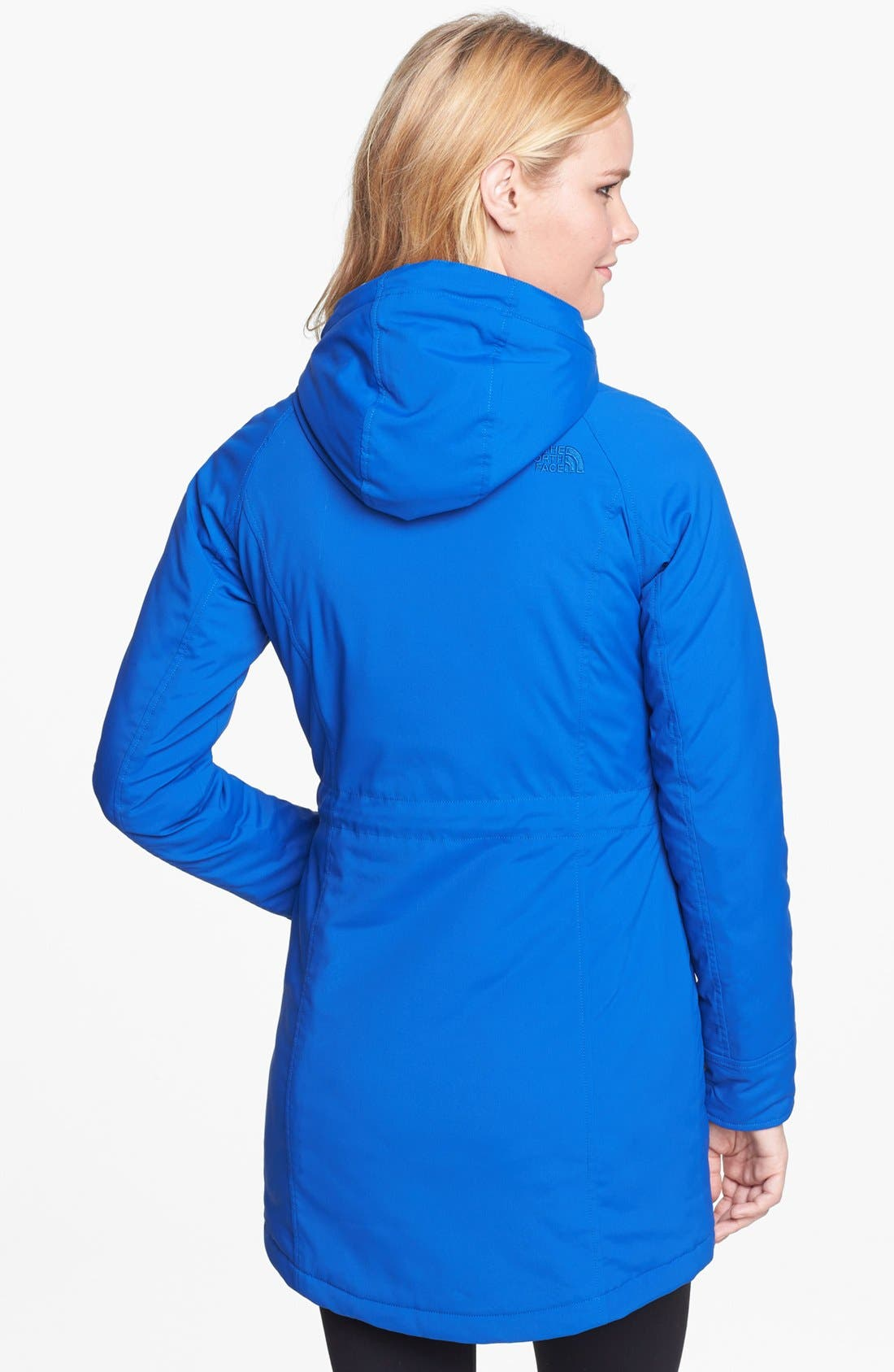 Alternate Image 2  - The North Face Coat & Zella Leggings