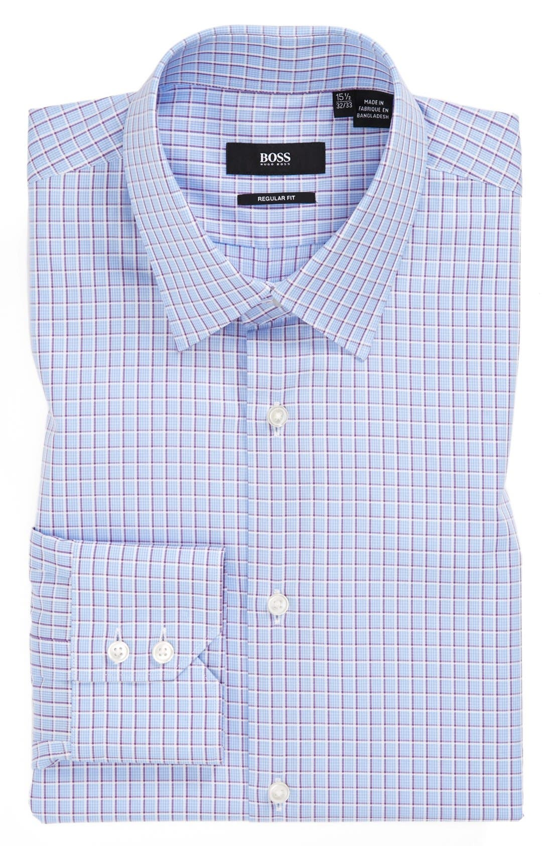 Alternate Image 1 Selected - BOSS HUGO BOSS 'Gulio' Regular Fit Dress Shirt
