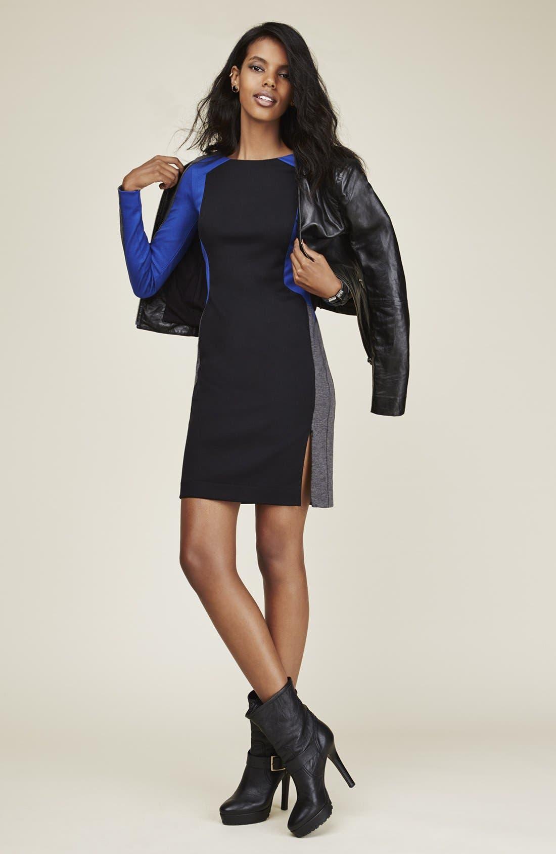 Alternate Image 5  - Trouvé Power Shoulder Leather Jacket