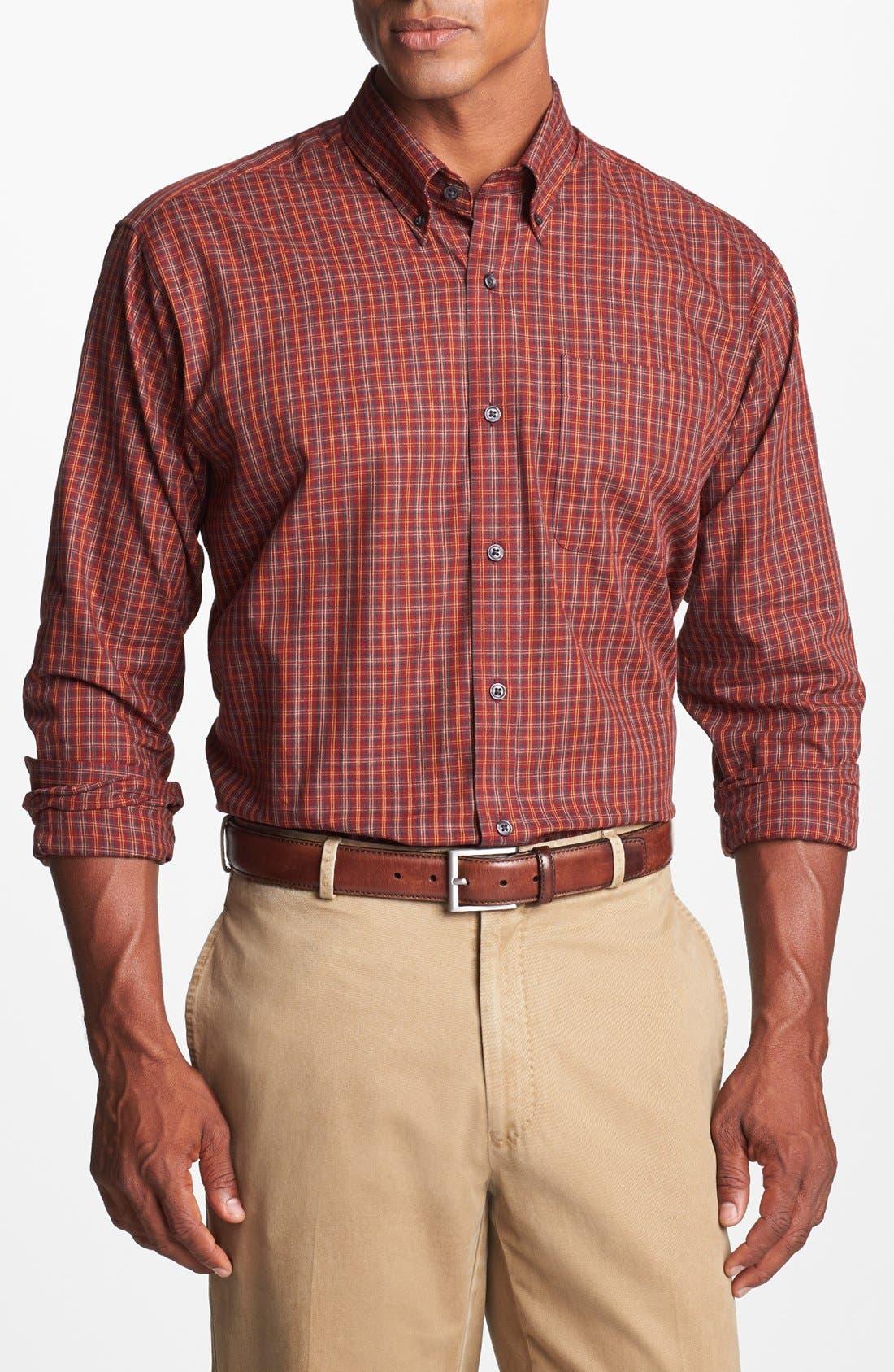 Alternate Image 1 Selected - Cutter & Buck 'Nickerson' Regular Fit Sport Shirt (Big & Tall)