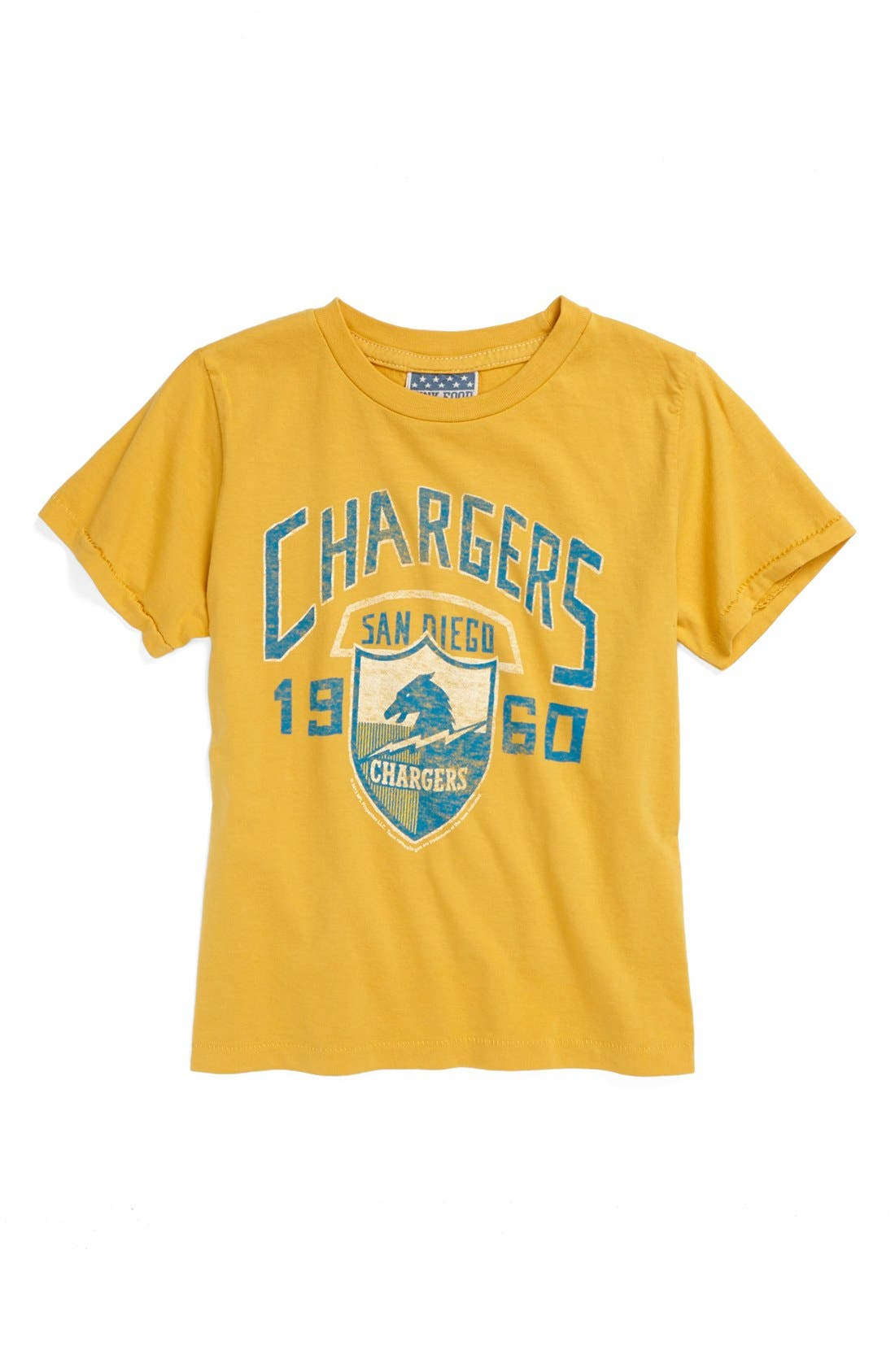 Alternate Image 1 Selected - Junk Food 'San Diego Chargers' T-Shirt (Toddler Boys)
