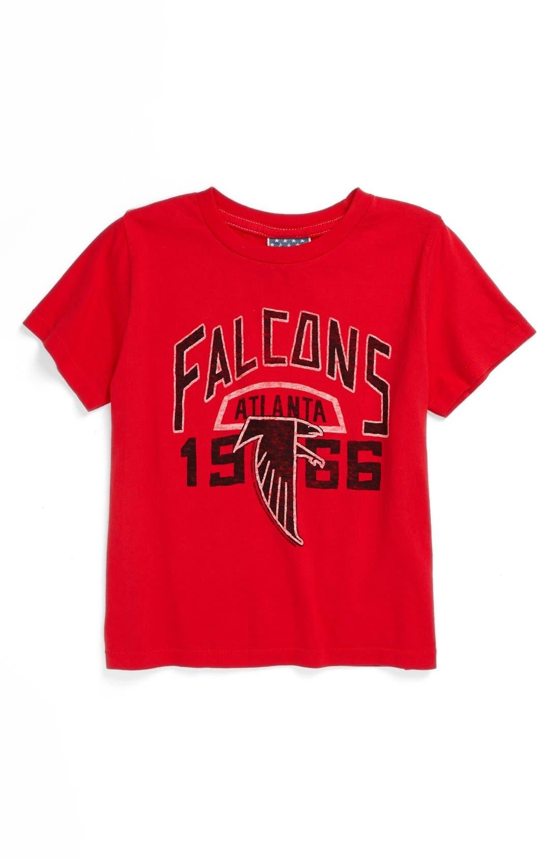 Alternate Image 1 Selected - Junk Food 'Atlanta Falcons' T-Shirt (Toddler Boys)