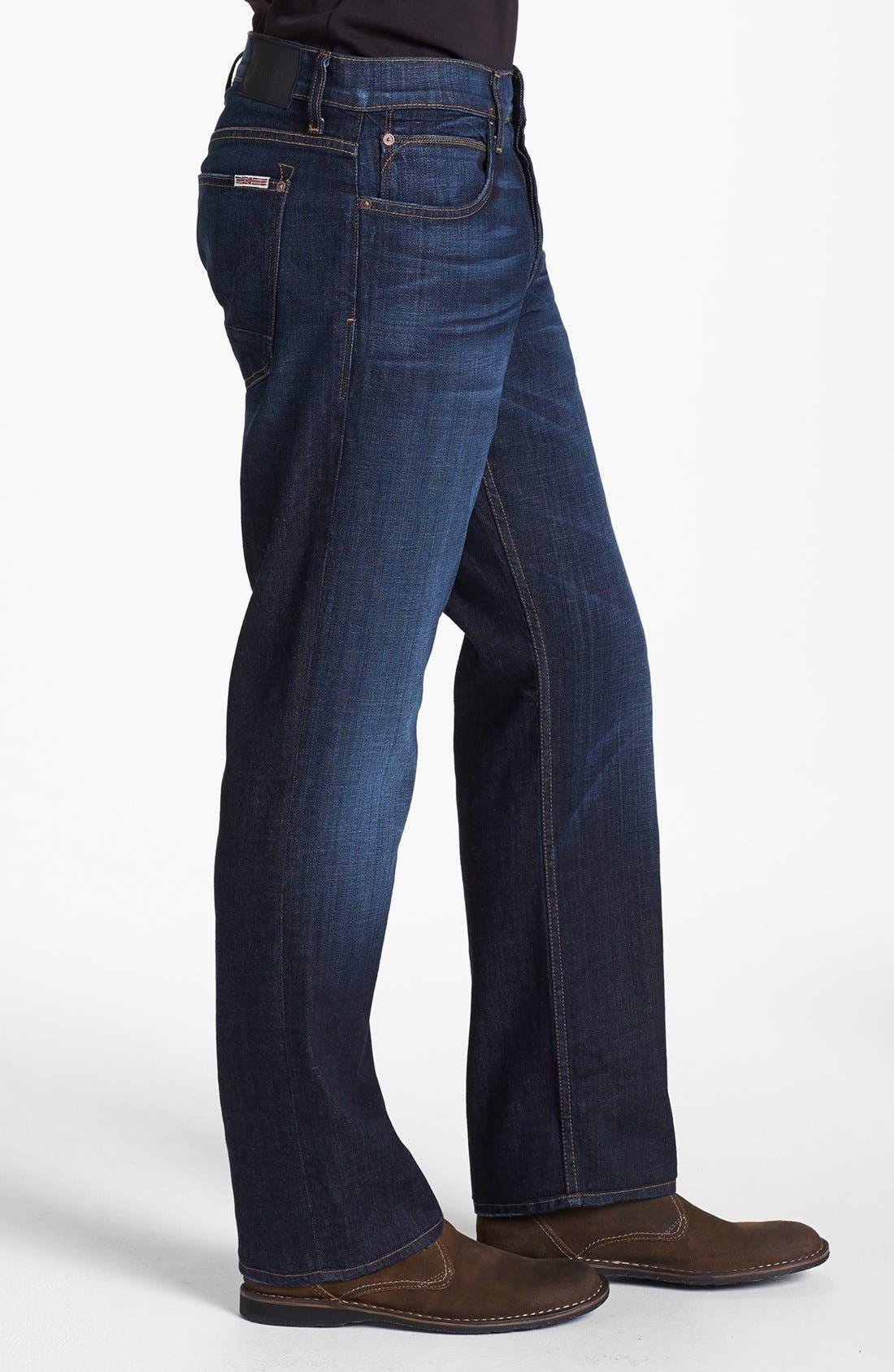 Alternate Image 3  - Hudson Jeans Straight Leg Jeans (Latour) (Tall)