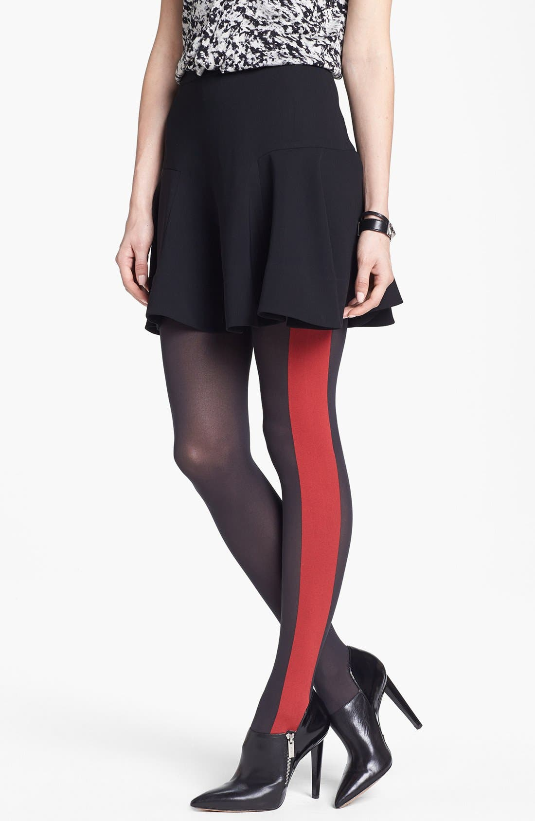Alternate Image 1 Selected - DKNY Colorblock Tights