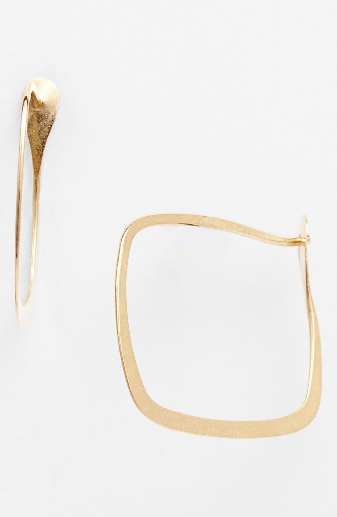 Alternate Image 1 Selected - Melissa Joy Manning Square Hoop Earrings