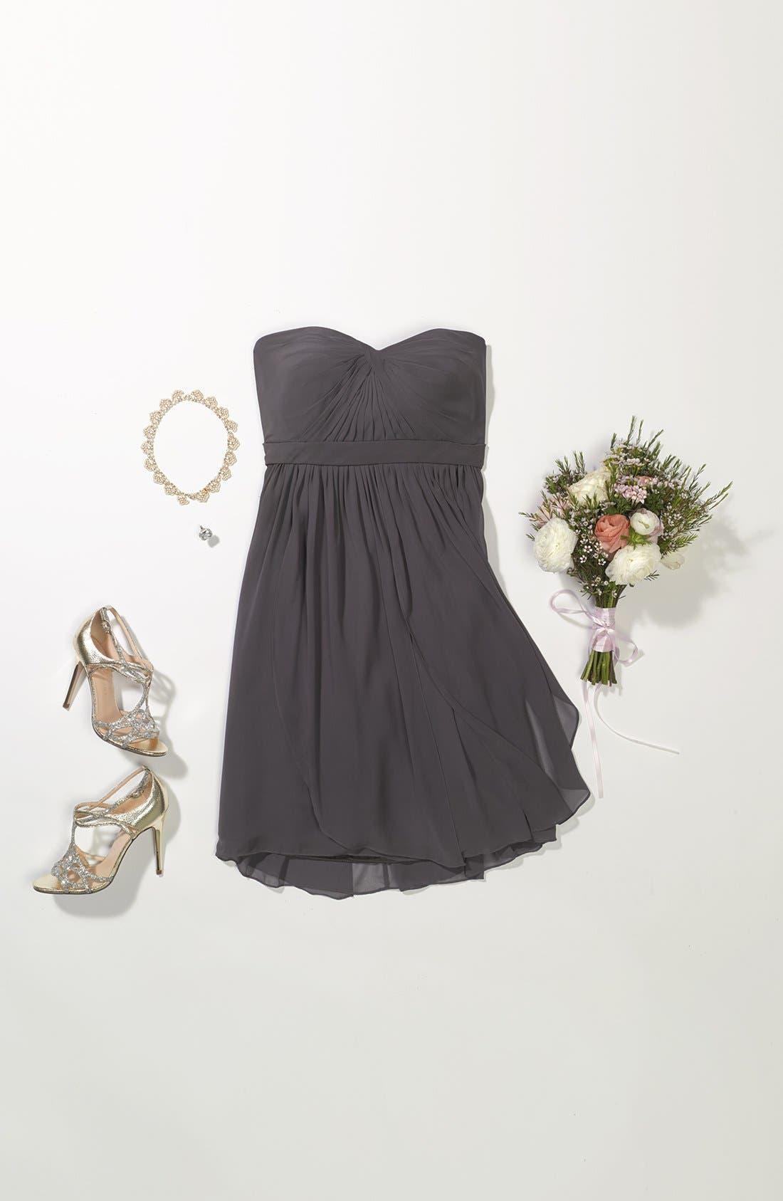 Alternate Image 2  - Jenny Yoo Dress & Accessories