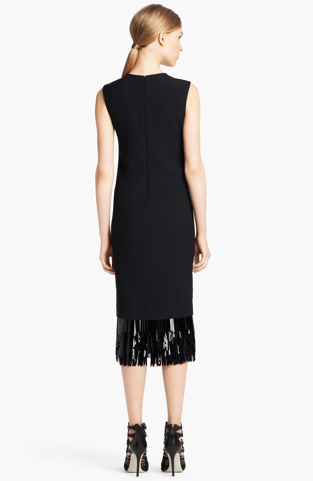 Alternate Image 2  - Jason Wu Fringe Cut Sequin Sheath Dress