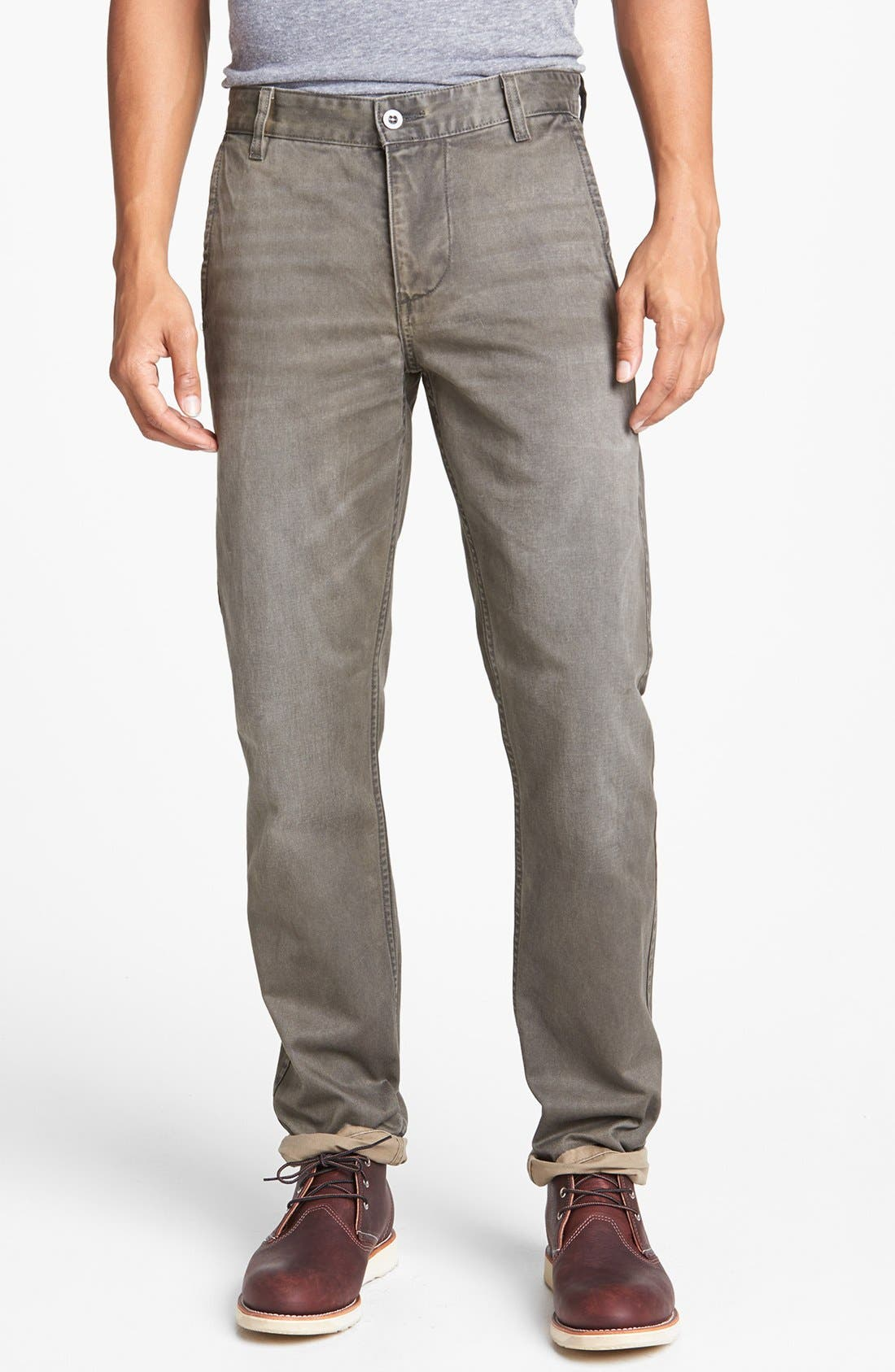 Alternate Image 1 Selected - Dockers® 'Alpha' Slim Tapered Leg Chinos