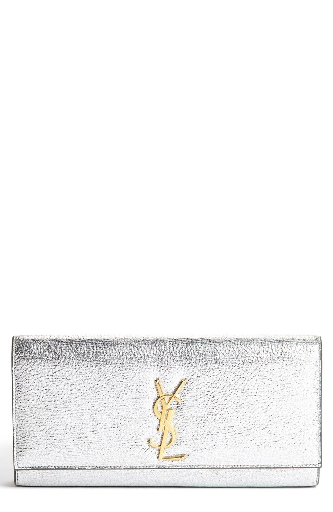 Alternate Image 1 Selected - Saint Laurent 'Cassandre - Metallique' Clutch