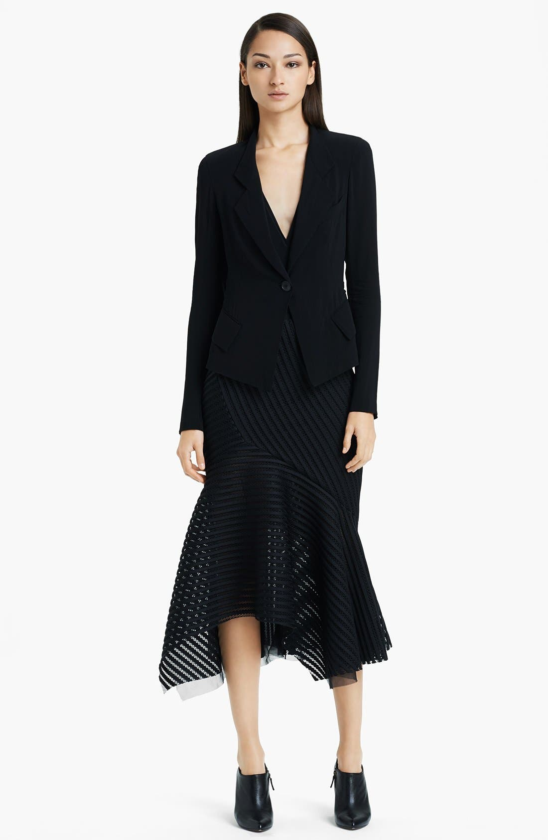 Alternate Image 3  - Donna Karan Collection Stretch Crepe Georgette Jacket