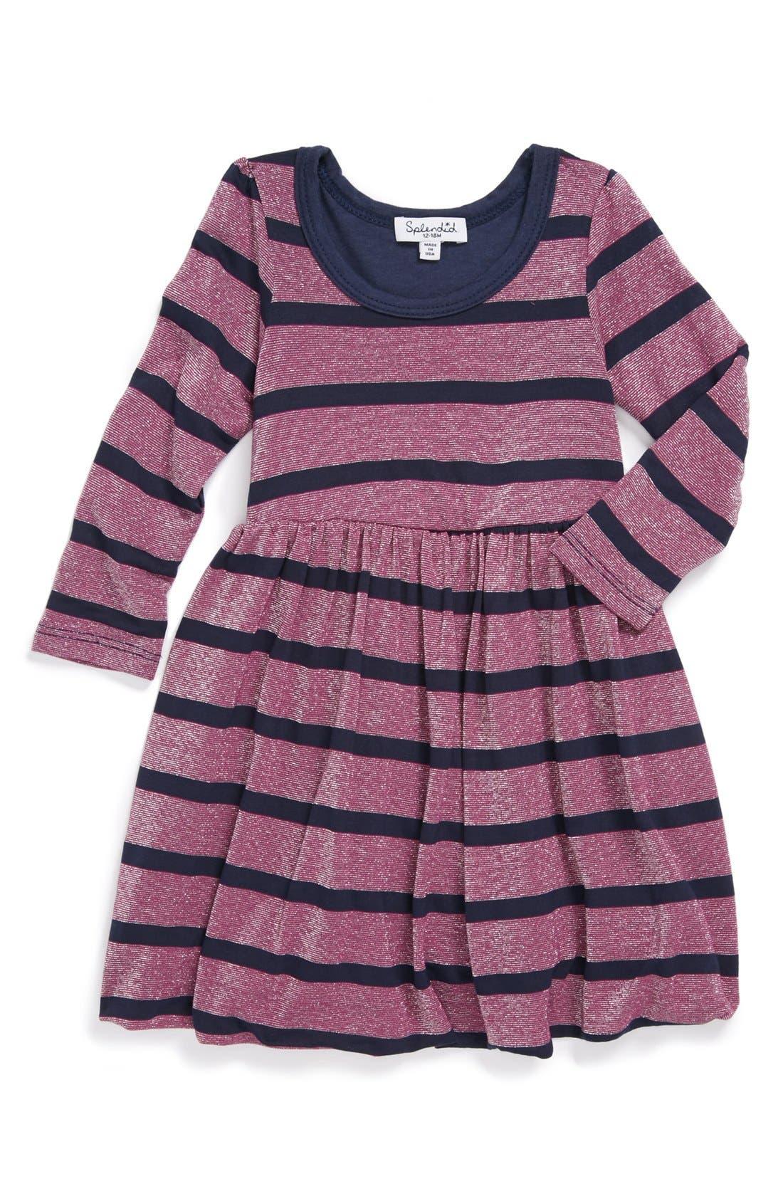 Main Image - Splendid Bubble Dress (Baby Girls)