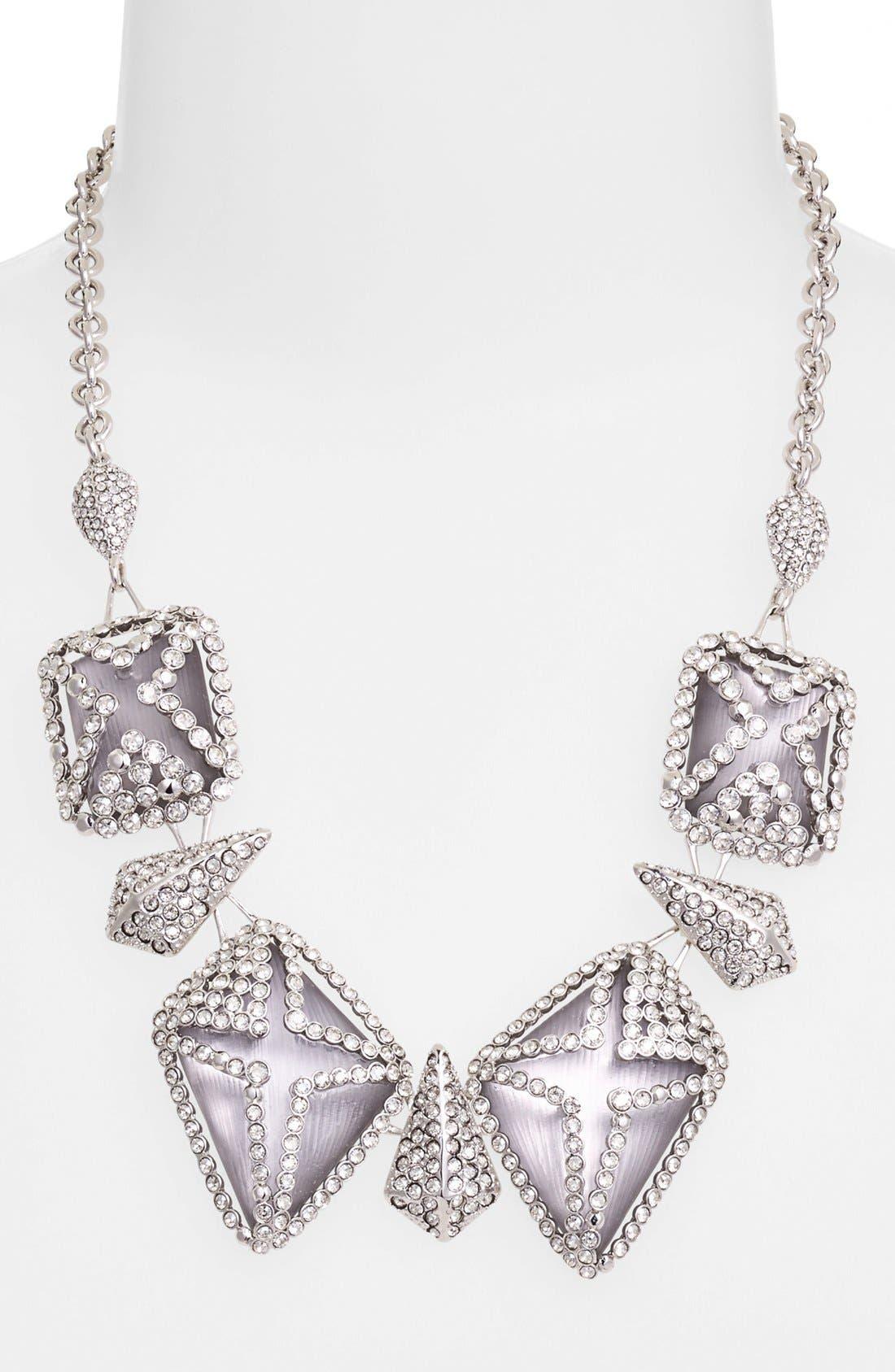 Main Image - Alexis Bittar 'Lucite® - Winter Deco' Bib Necklace