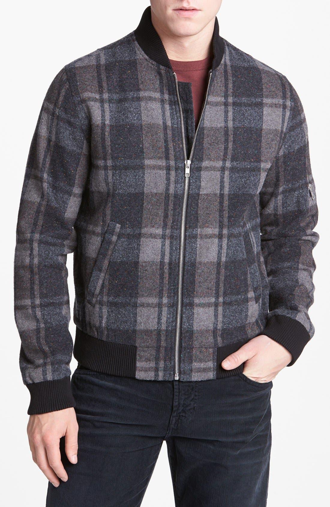 Alternate Image 1 Selected - AG Plaid Jacket