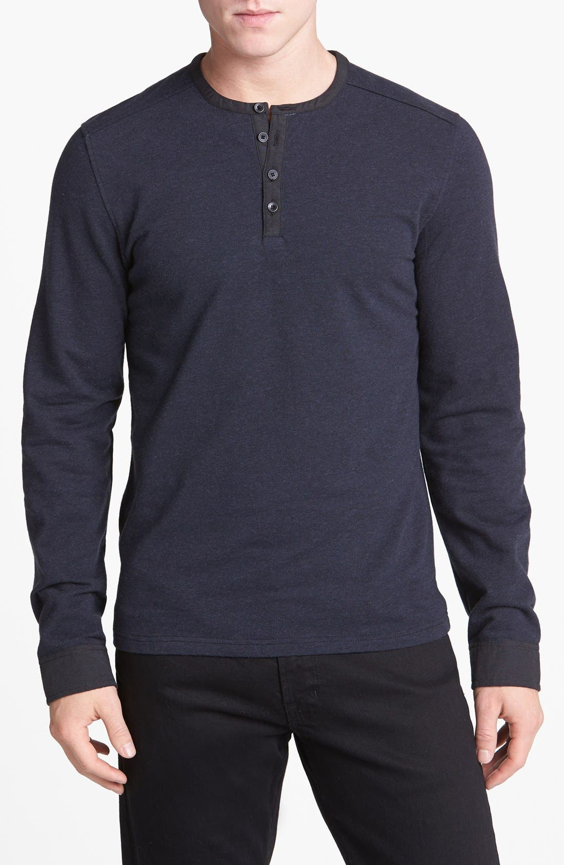 Alternate Image 1 Selected - Vince Camuto Knit Henley