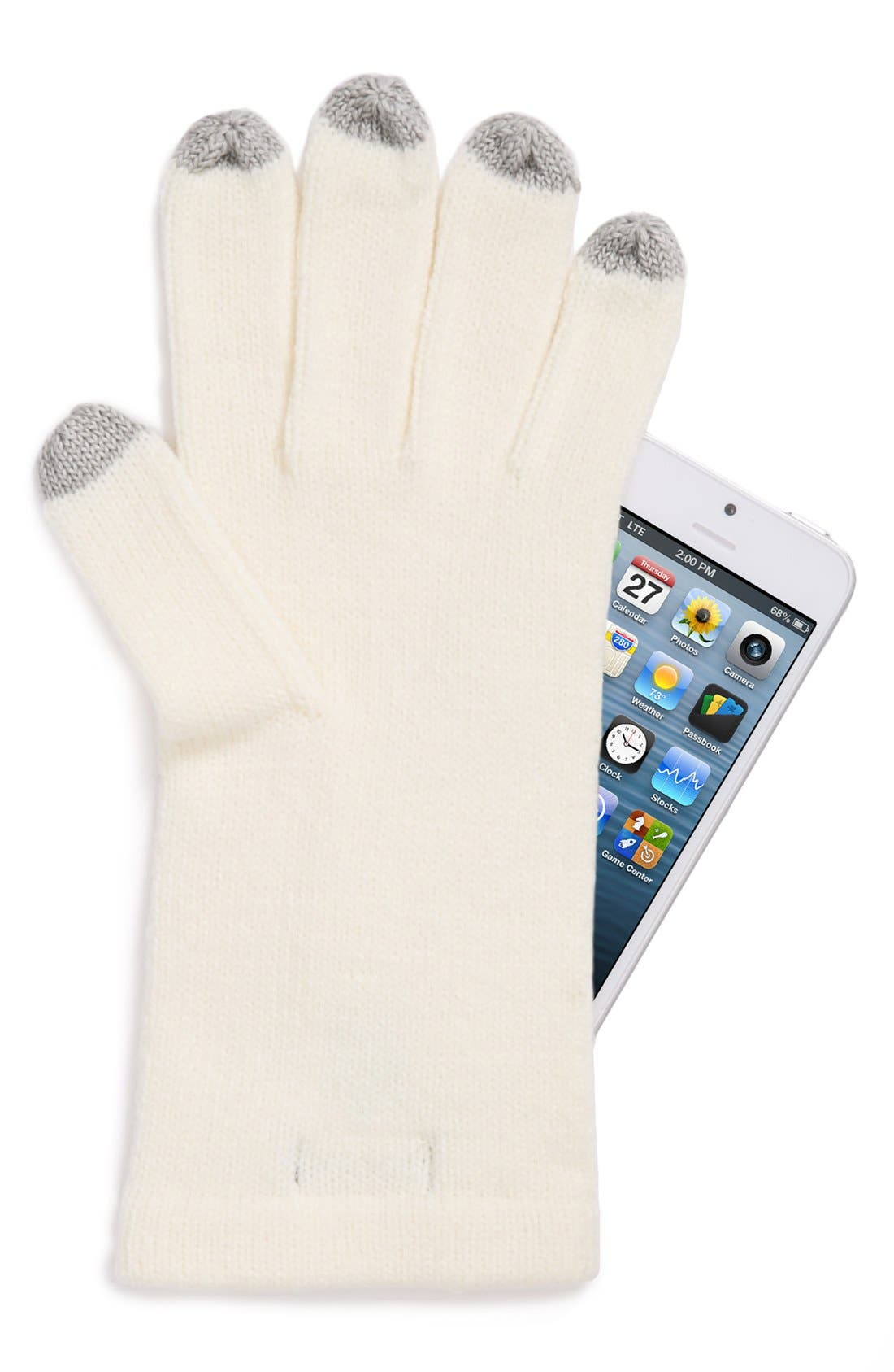 Alternate Image 2  - Echo 'Touch' Knit Gloves