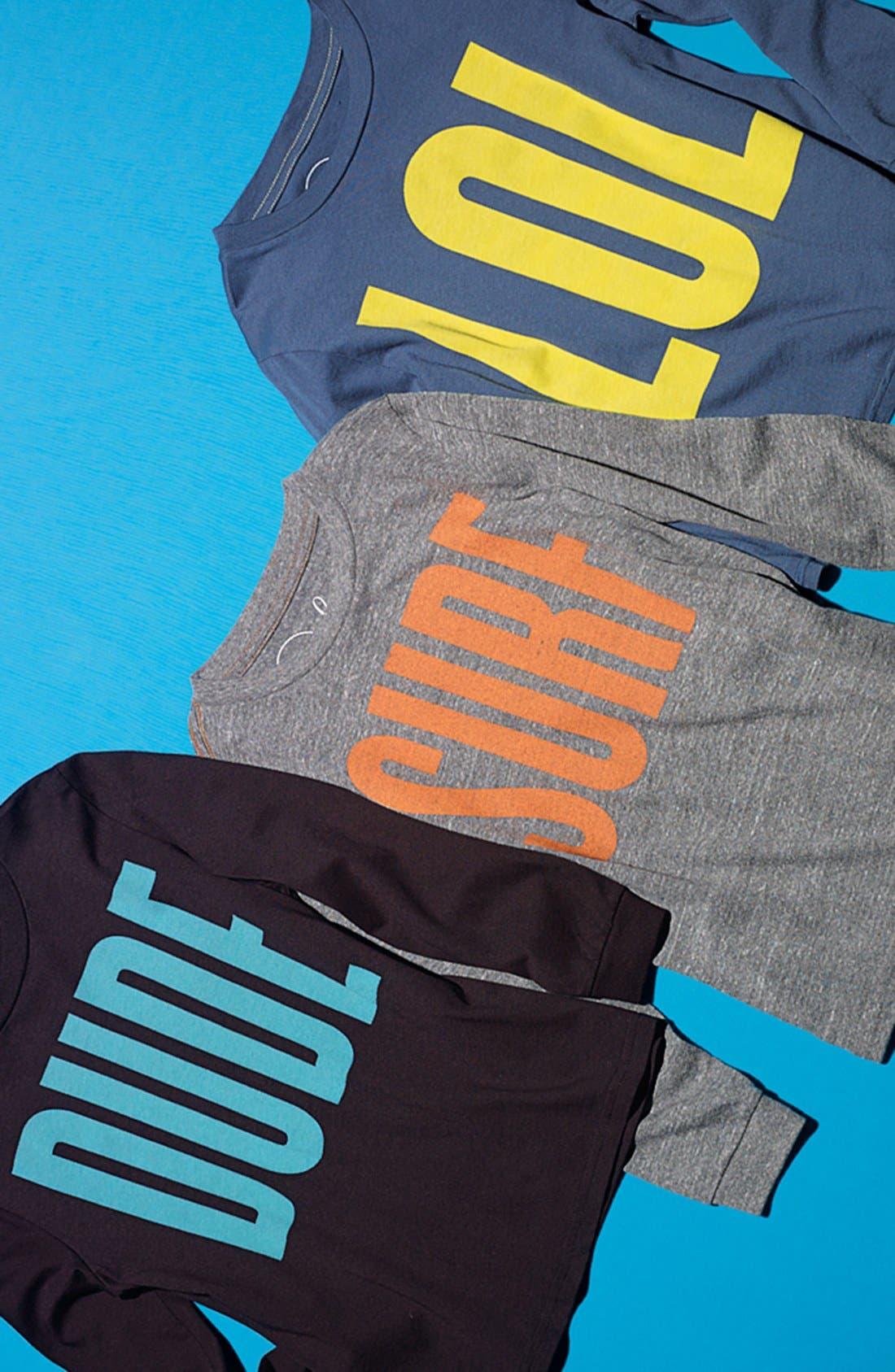 Alternate Image 2  - Peek Long Sleeve T-Shirt (Toddler Boys & Little Boys)