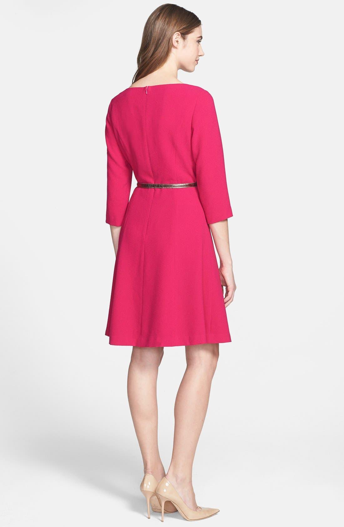 Alternate Image 2  - Eliza J Crepe A-Line Dress