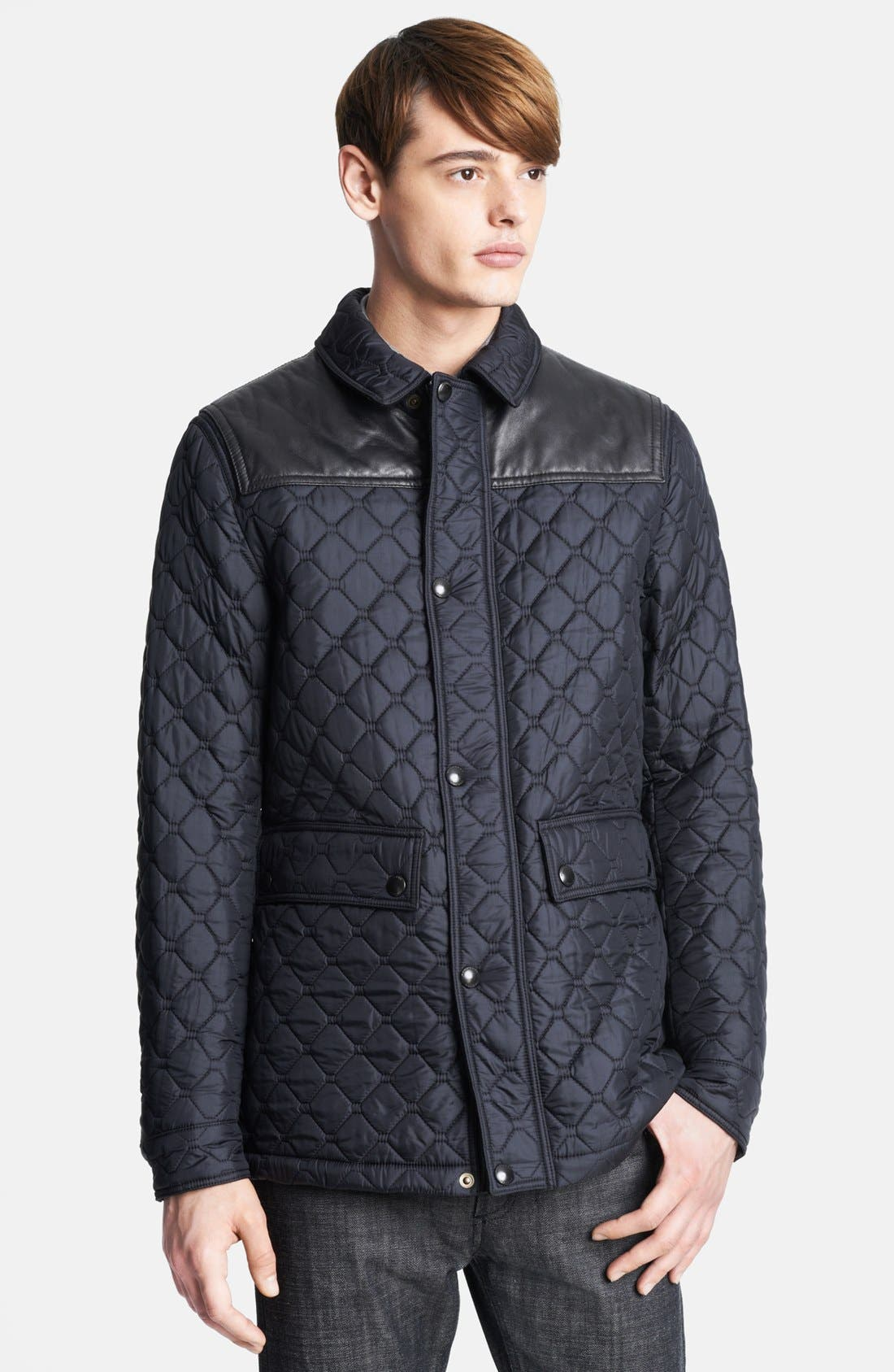 Alternate Image 1 Selected - Burberry London 'Highgrove' Quilted Jacket
