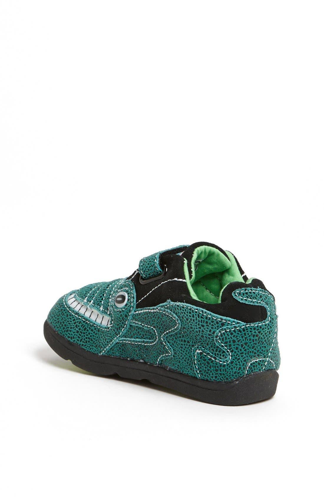 Alternate Image 2  - Zooligans™ 'Jacques the Gator' Sneaker (Baby, Walker, Toddler & Little Kid)