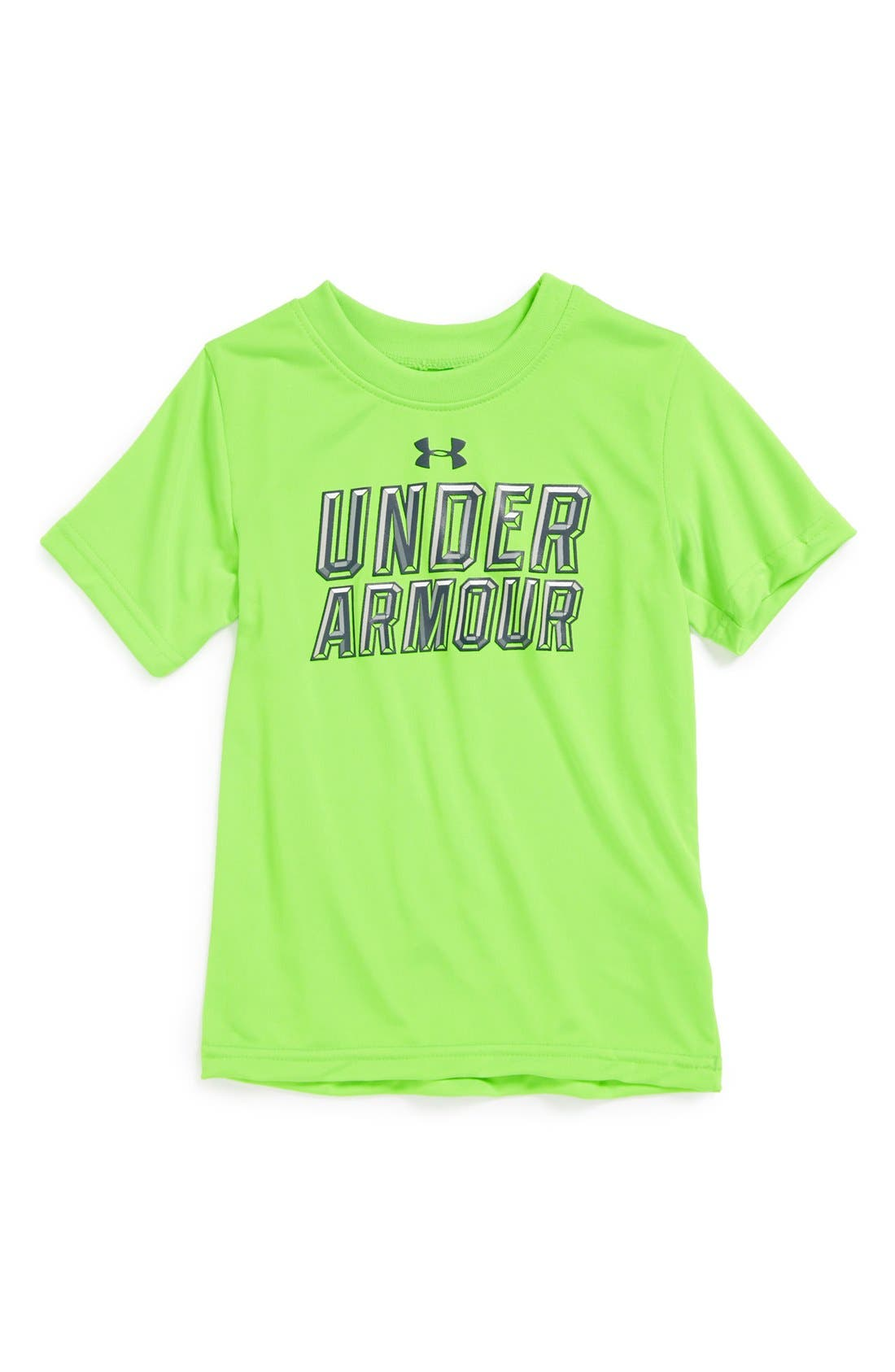 Alternate Image 1 Selected - Under Armour 'Stained Glass' T-Shirt (Toddler Boys)