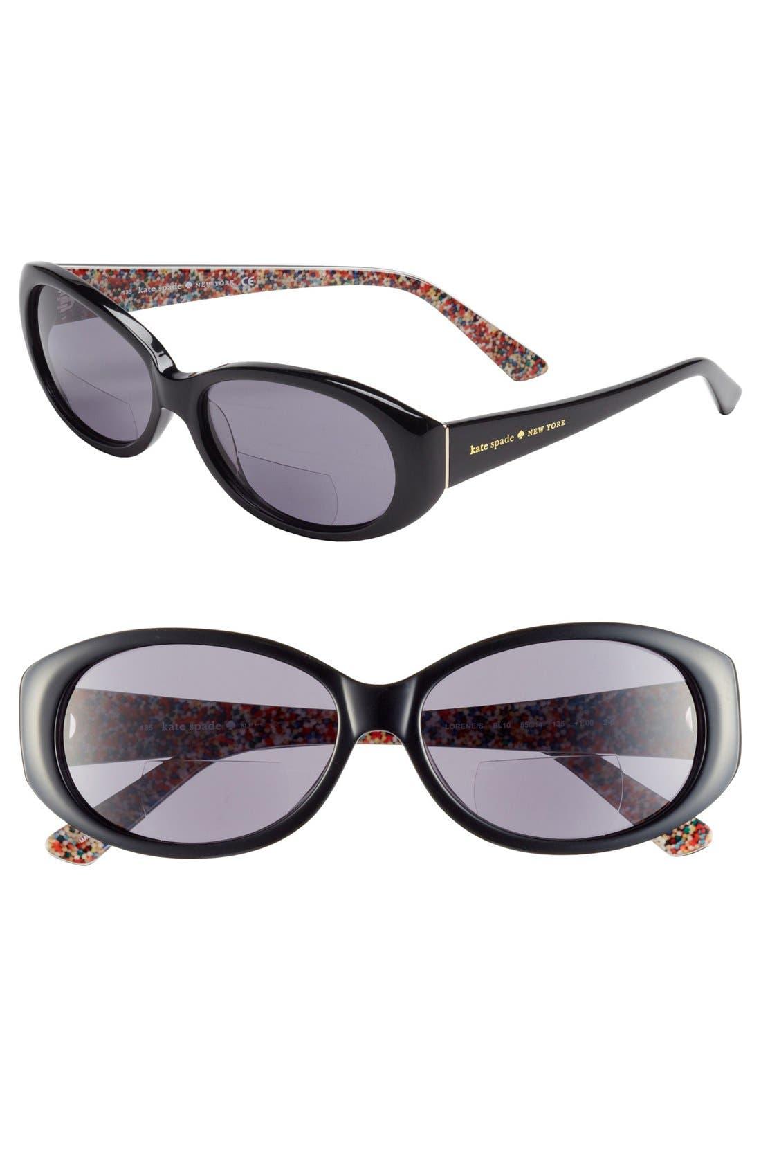 Main Image - kate spade new york 'lorene' reading sunglasses (Online Only)