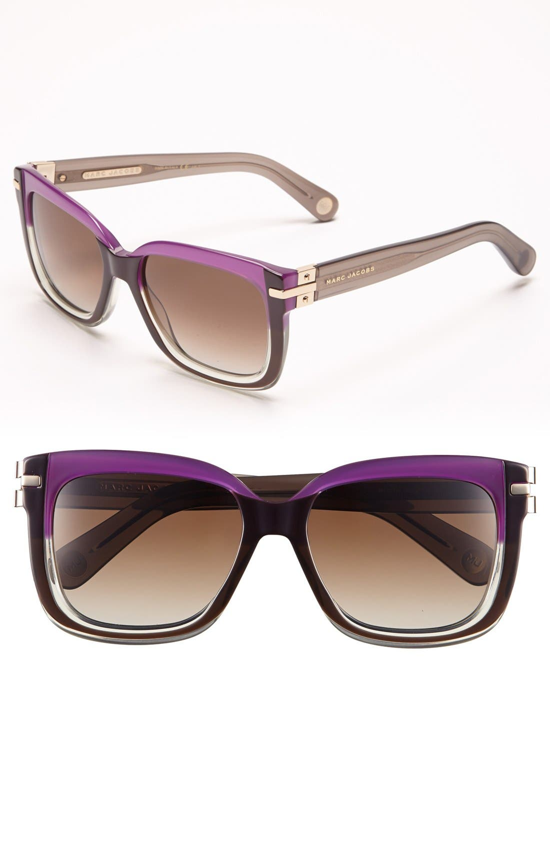 Main Image - MARC JACOBS 55mm Retro Sunglasses