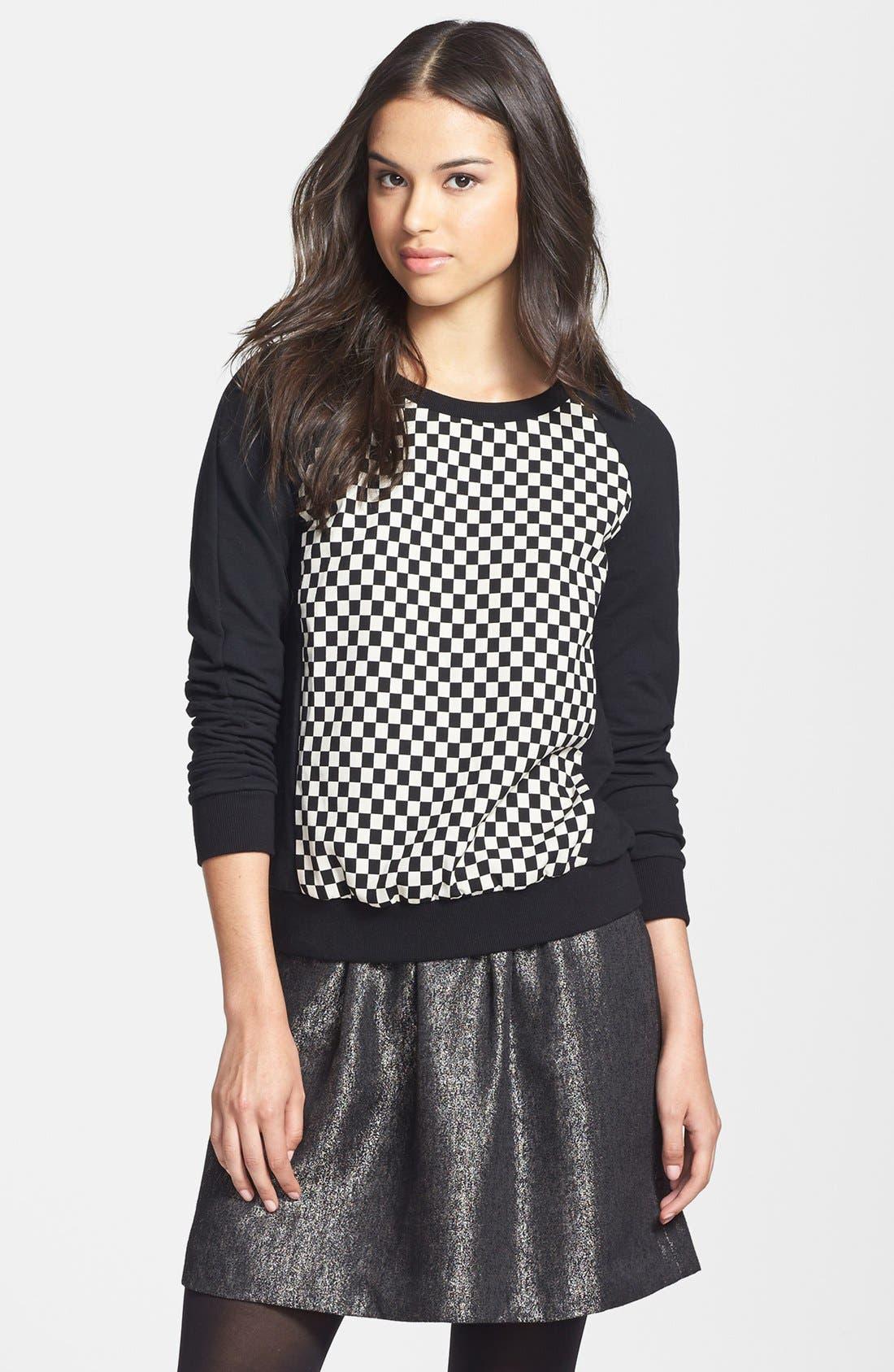 Alternate Image 1 Selected - Halogen® Colorblock Sweatshirt
