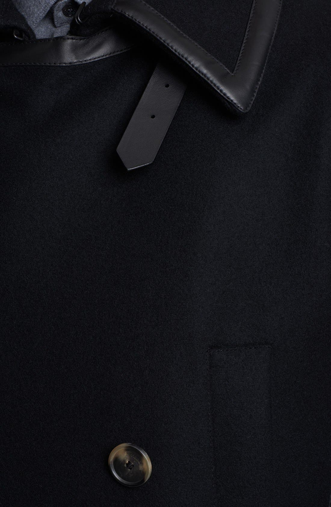 Alternate Image 3  - Salvatore Ferragamo Double Breasted Wool Coat