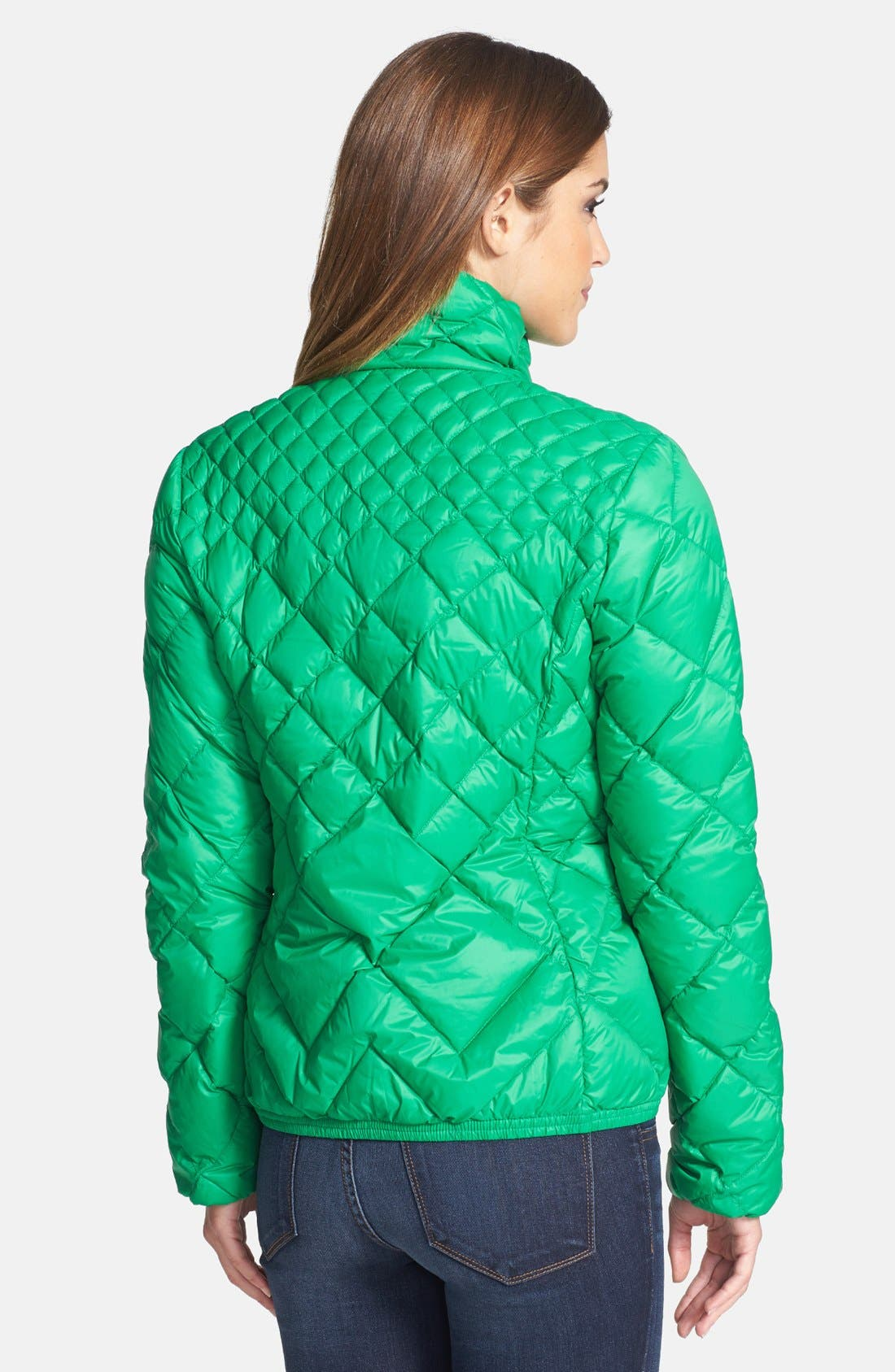Alternate Image 2  - MICHAEL Michael Kors Diamond Quilted Down Jacket (Online Only)