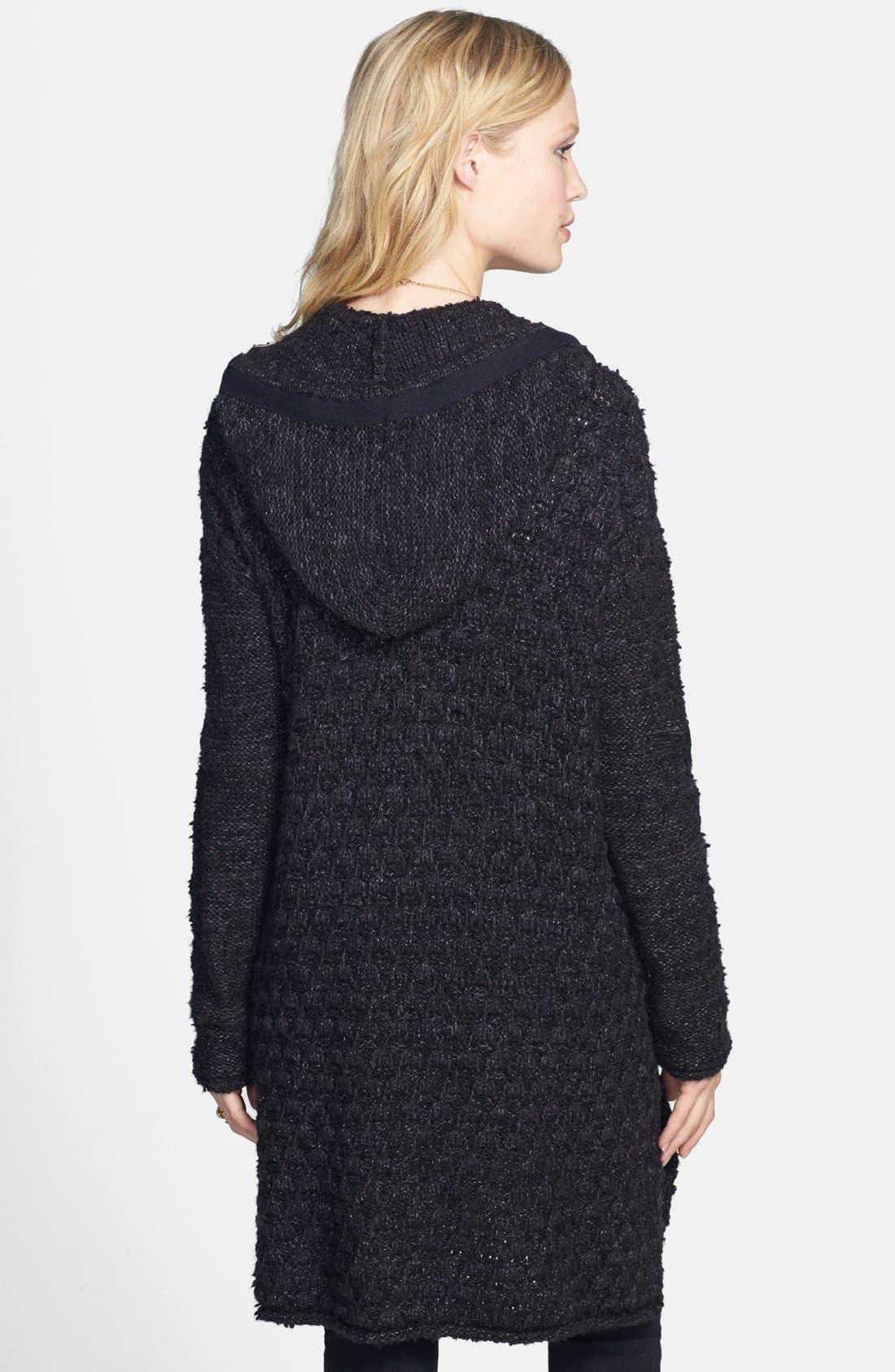 Alternate Image 2  - Free People Knit Toggle Coat
