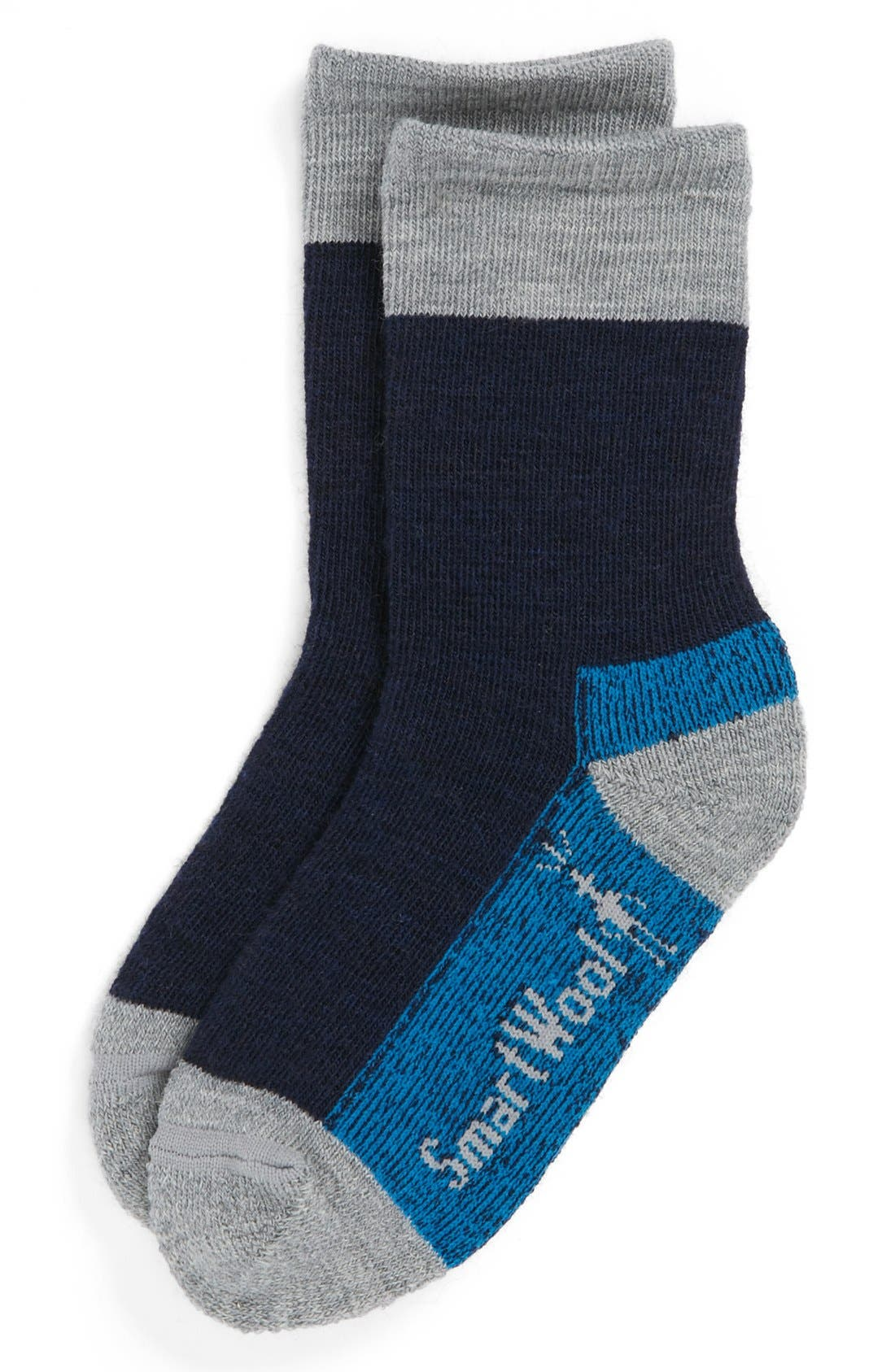 Alternate Image 1 Selected - Smartwool 'Hikerstreet' Socks (Toddler, Little Boys & Big Boys)