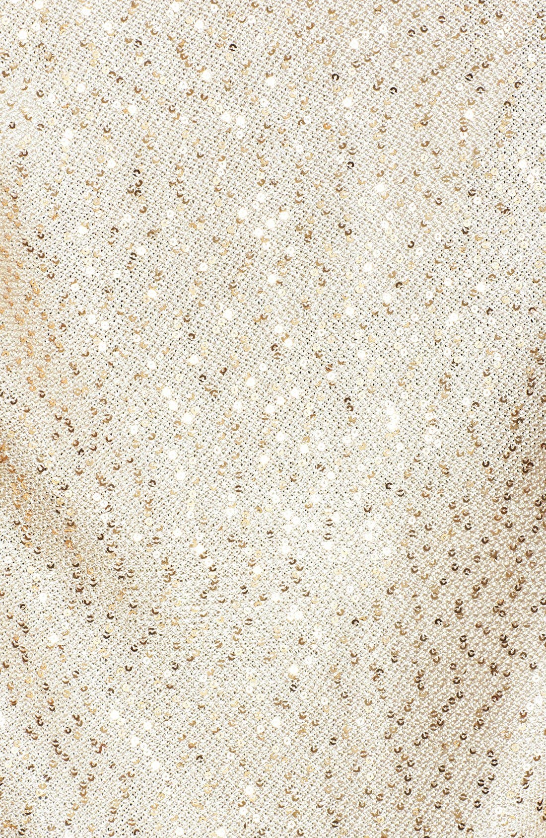 Alternate Image 5  - St. John Collection Sequin Ruched Knit Cardigan