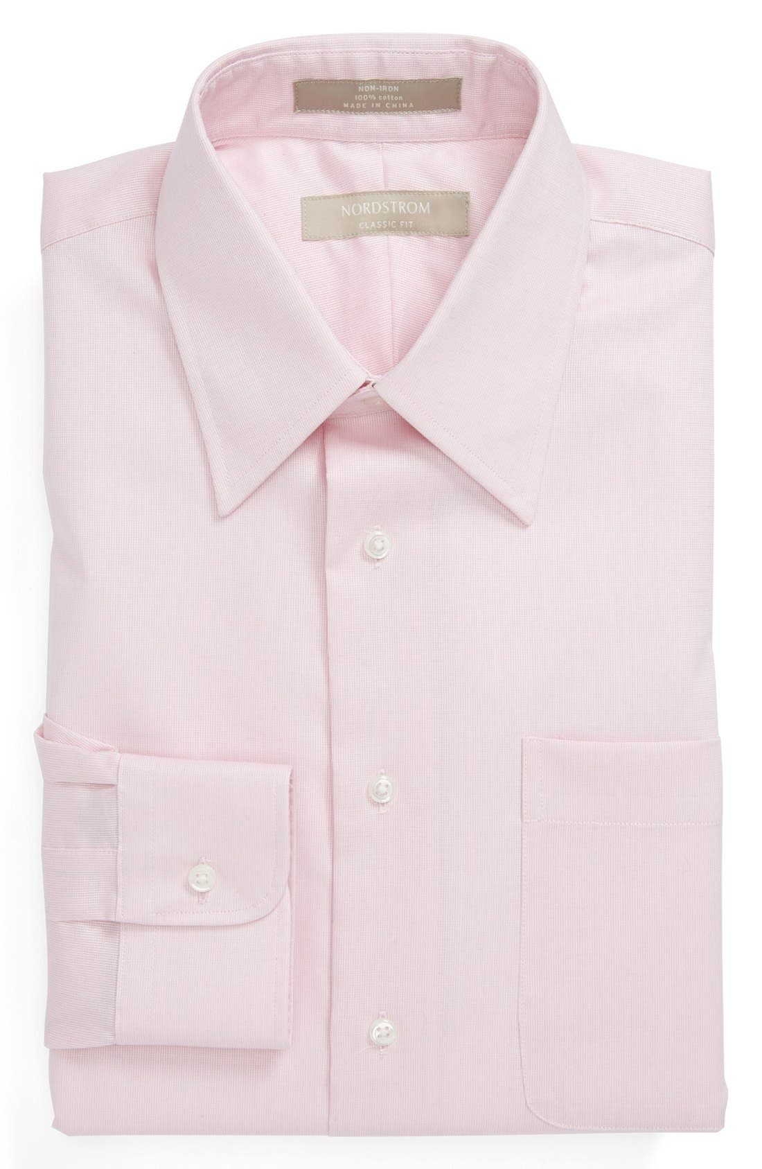 Alternate Image 1 Selected - Nordstrom Classic Fit Non-Iron Dress Shirt (Online Only)