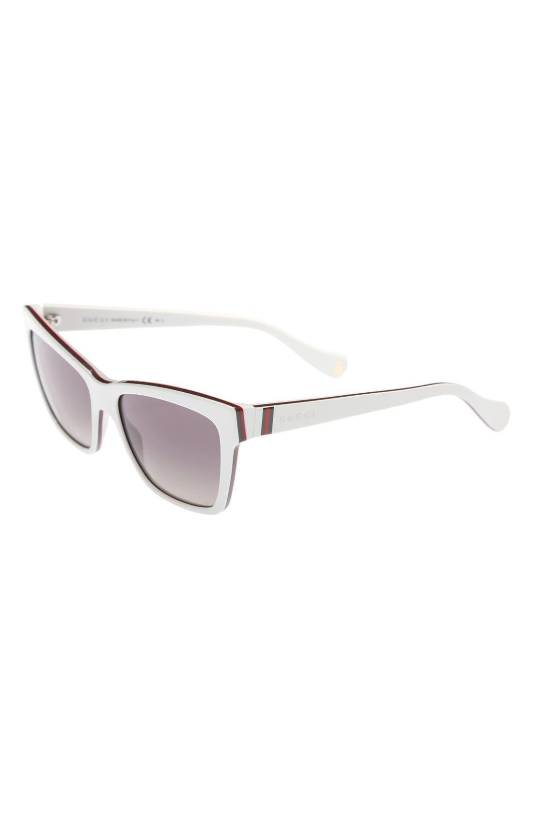 Alternate Image 1 Selected - Gucci 50mm Retro Sunglasses (Girls)