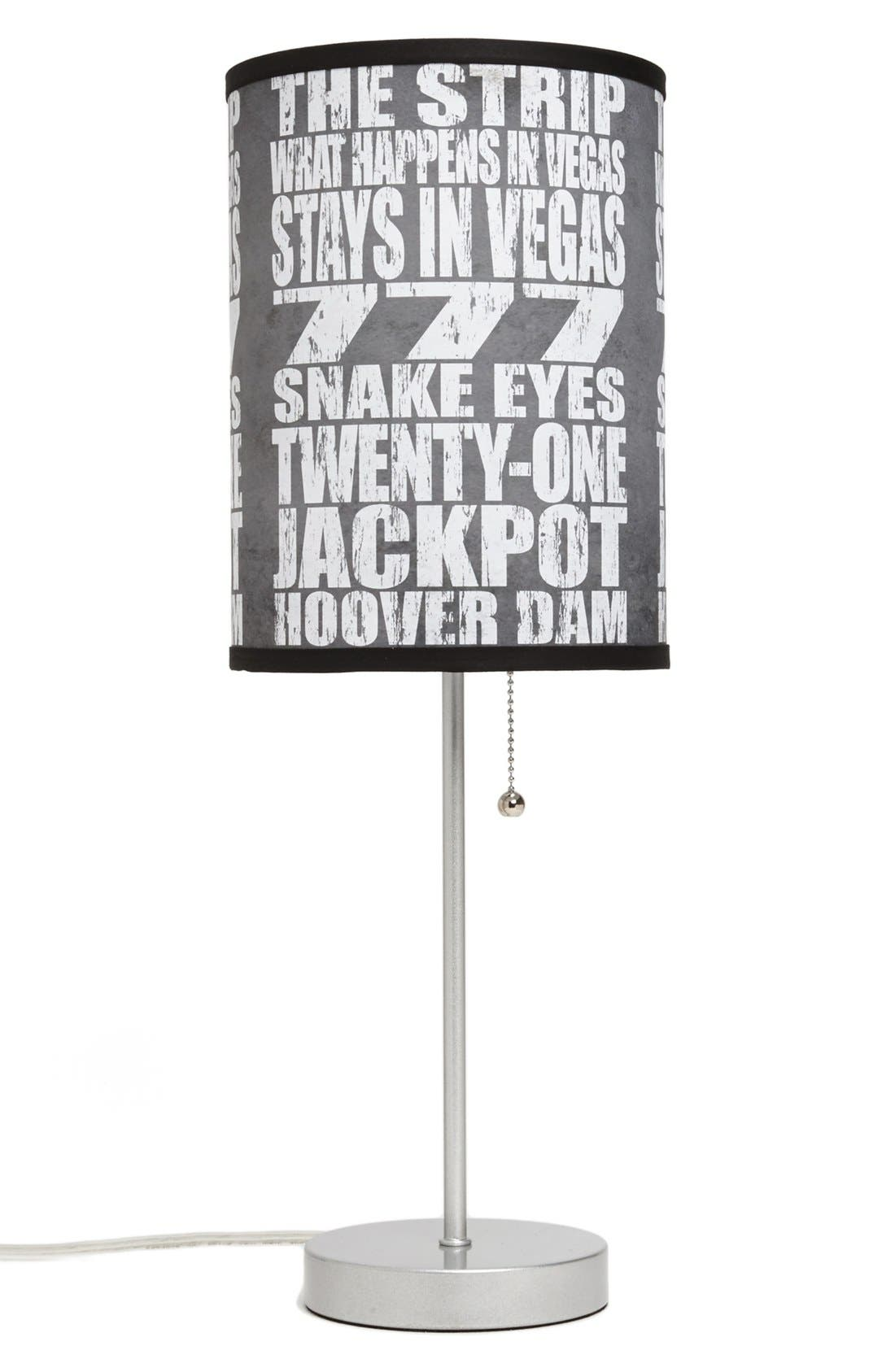 Main Image - LAMP-IN-A-BOX 'Local Words - Las Vegas' Print Lamp