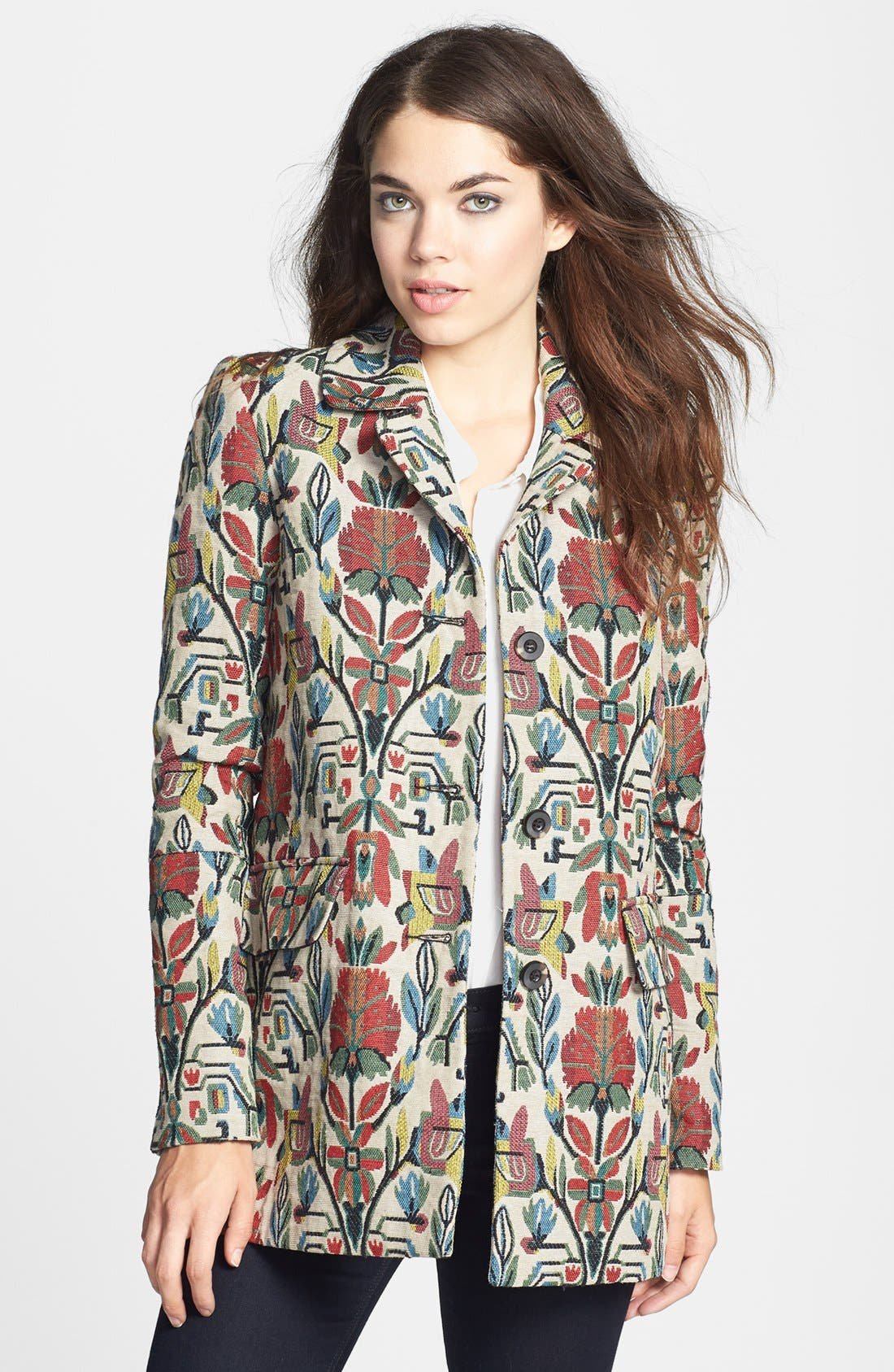 Alternate Image 1 Selected - Dolce Vita 'Tommie' Tapestry Jacket