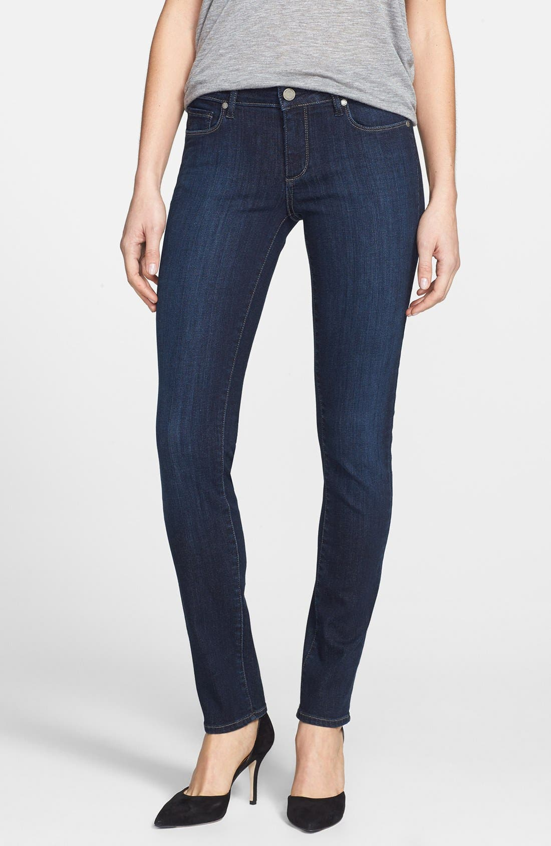 Alternate Image 1 Selected - Paige Denim 'Skyline' Skinny Jeans (Trinity)