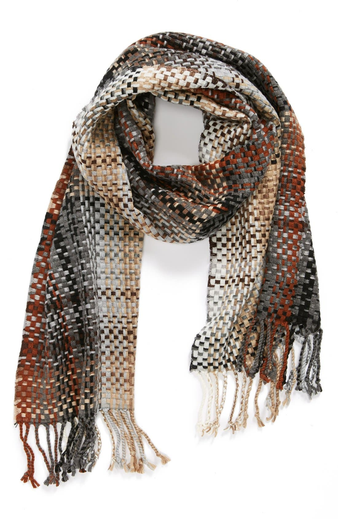 Main Image - Echo Textural Woven Scarf