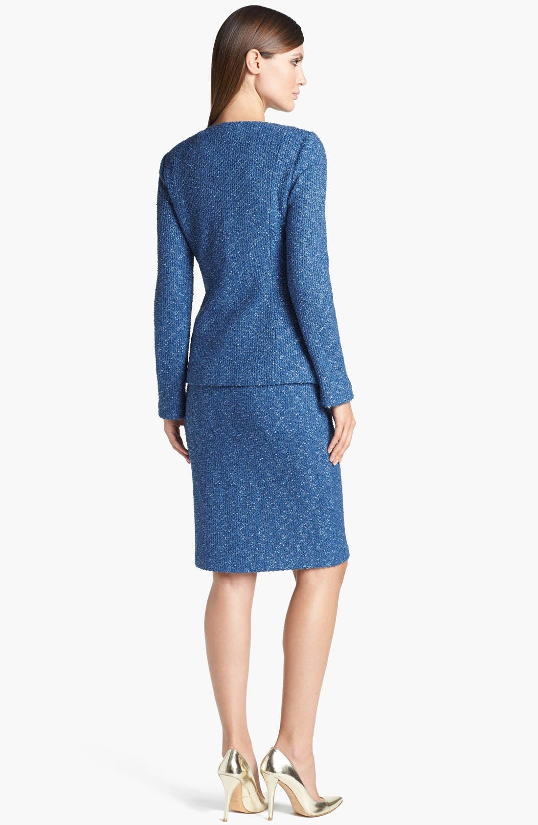 Alternate Image 2  - St. John Collection Flecked Tweed Jacket