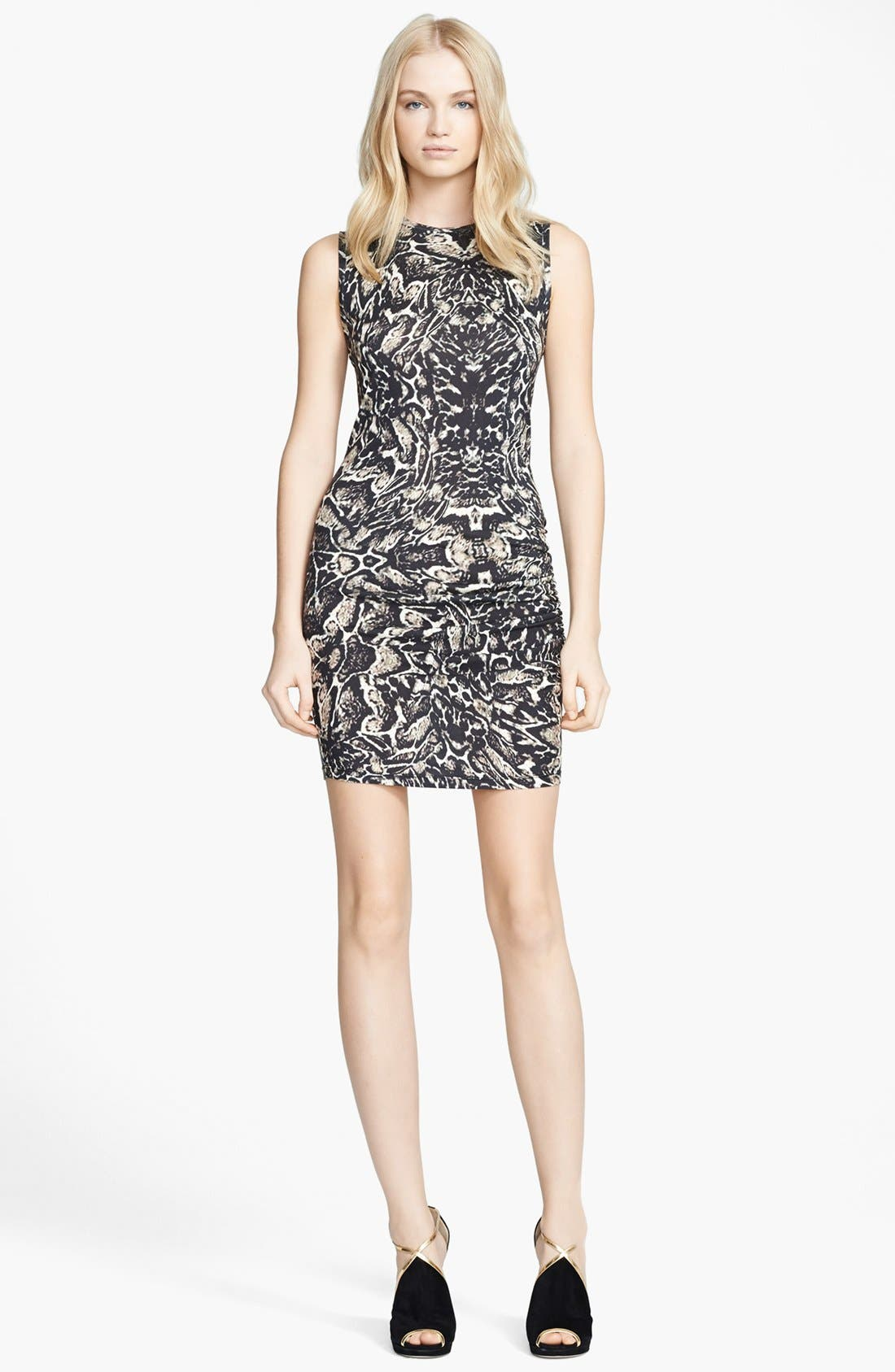 Main Image - Haute Hippie Snake Print Sleeveless Dress