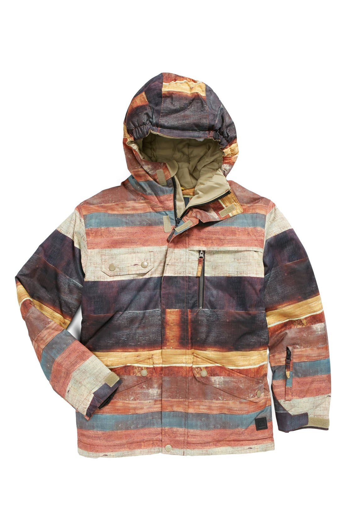 Alternate Image 1 Selected - Quiksilver 'Travis Rice Raft' Jacket (Little Boys & Big Boys)
