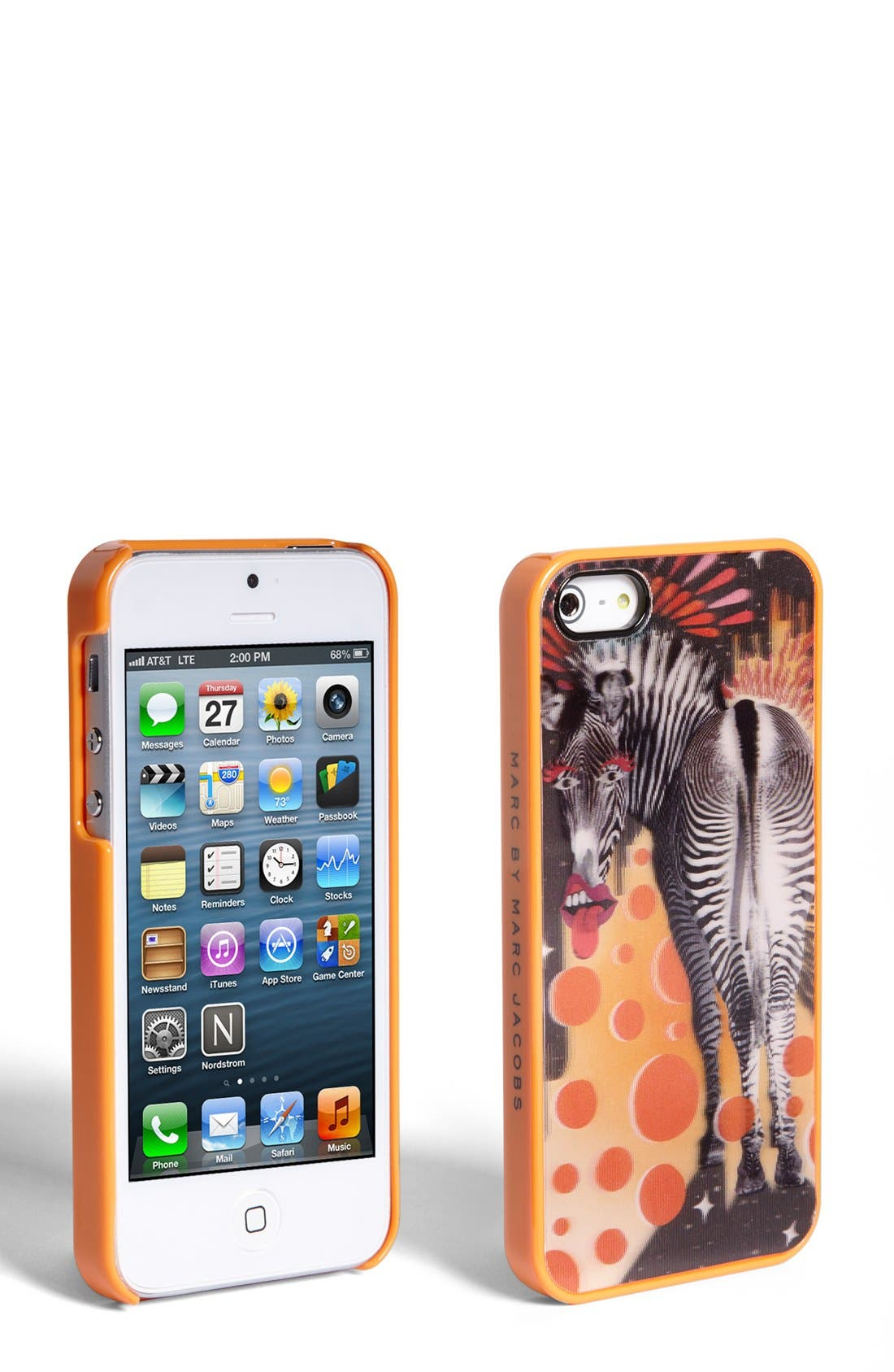 Alternate Image 1 Selected - MARC BY MARC JACOBS 'Zebra' Lenticular iPhone 5 & 5s Case