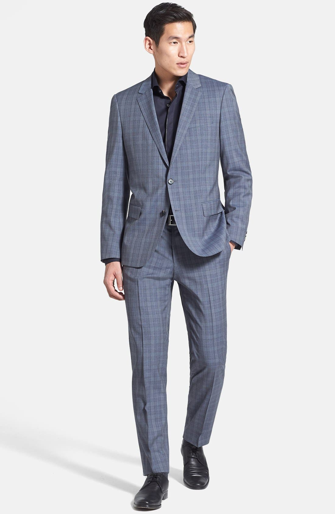 Alternate Image 1 Selected - BOSS HUGO BOSS Suit & Dress Shirt
