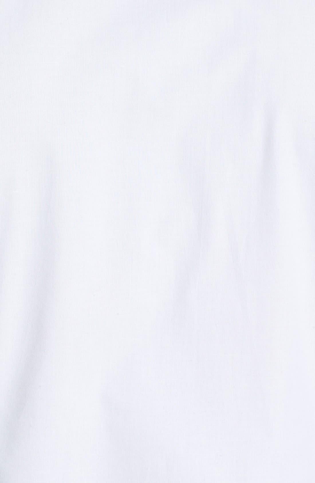 Alternate Image 3  - French Connection 'Wassail' Poplin Tuxedo Shirt