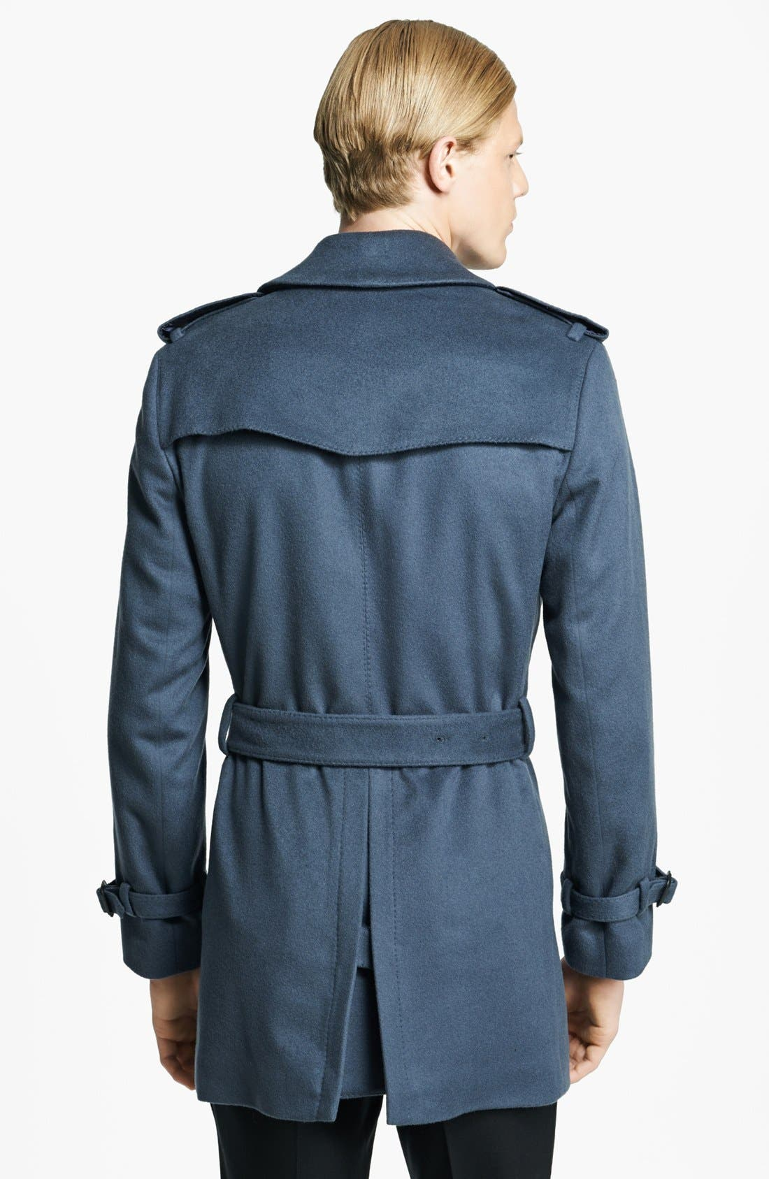 Alternate Image 2  - Burberry London 'Britton' Wool & Cashmere Double Breasted Trench Coat