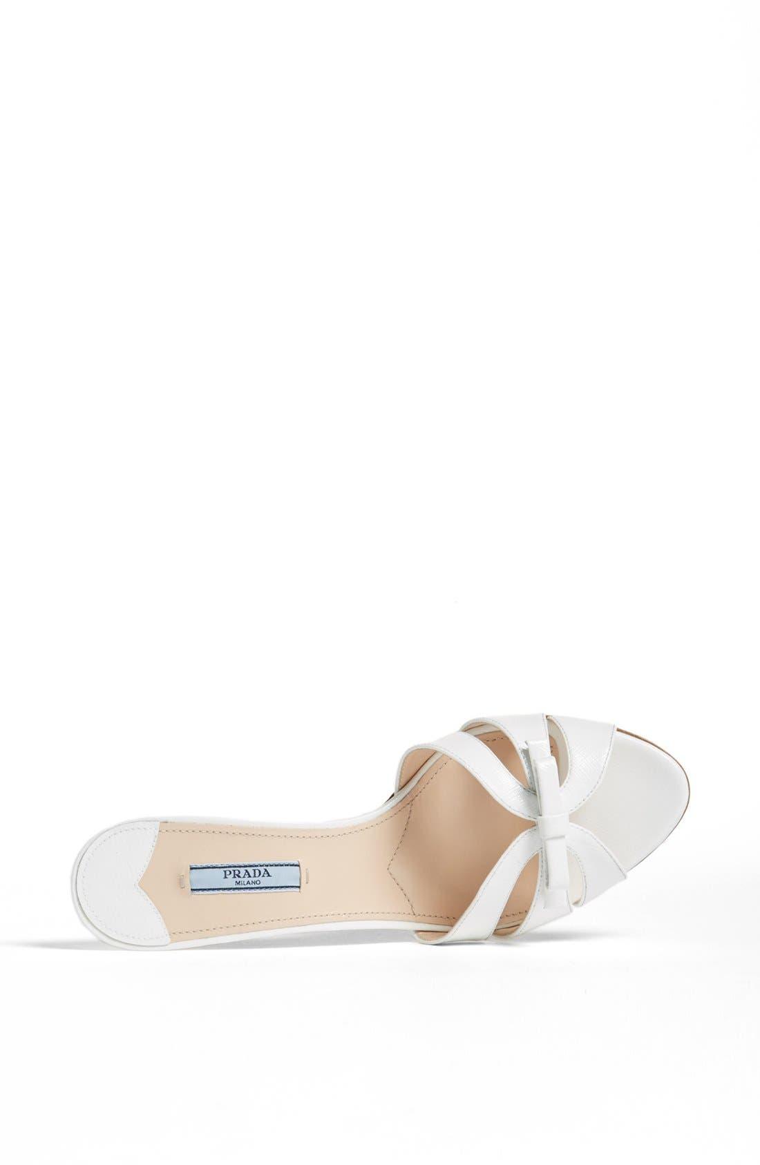 Alternate Image 3  - Prada Bow Slide Sandal